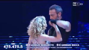 Notti sul ghiaccio 2015, Federica Constantini Giorgio Borghetti
