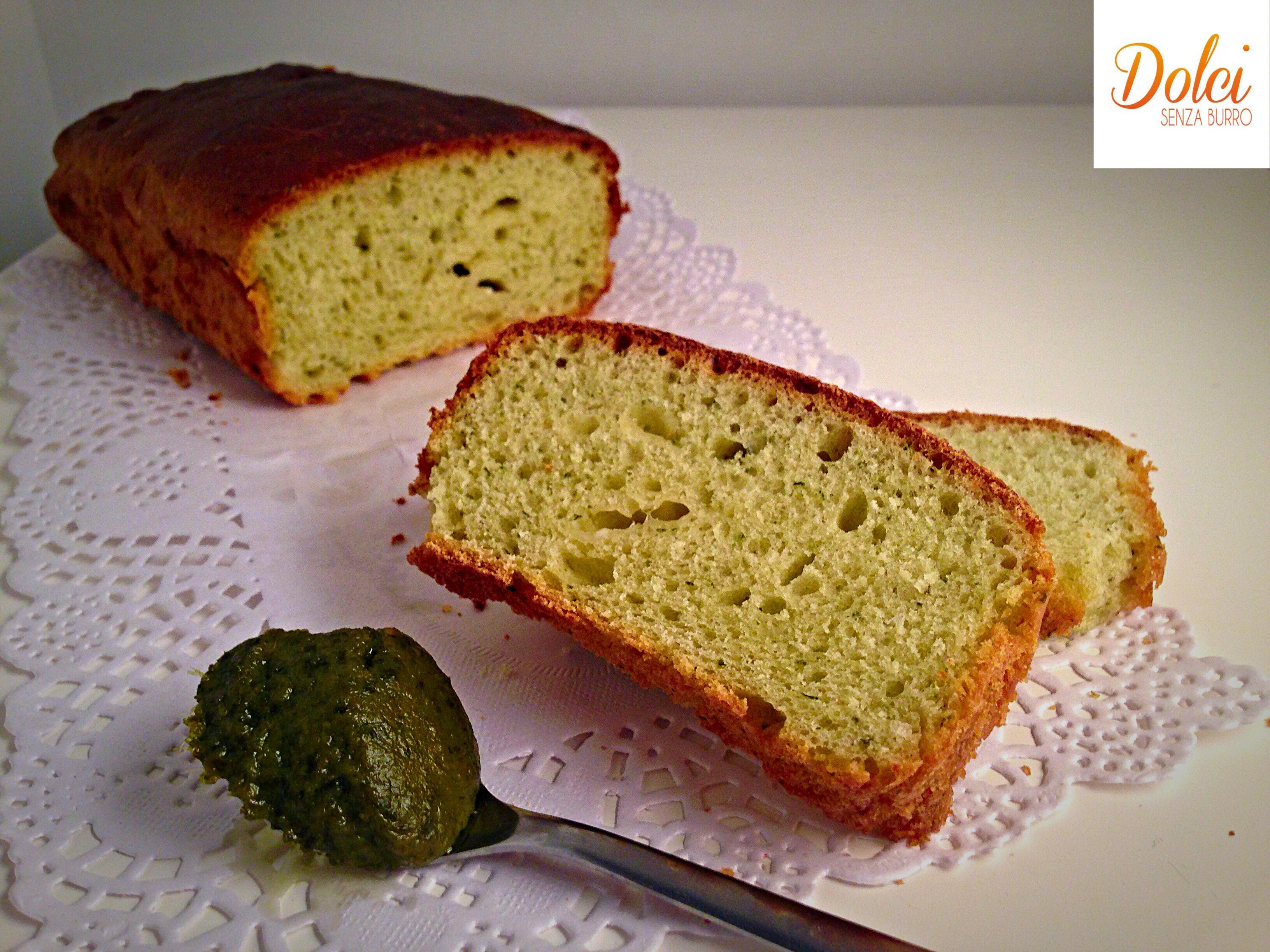 Populaire Plumcake Salato al Pesto - Dolci Senza Burro UU48