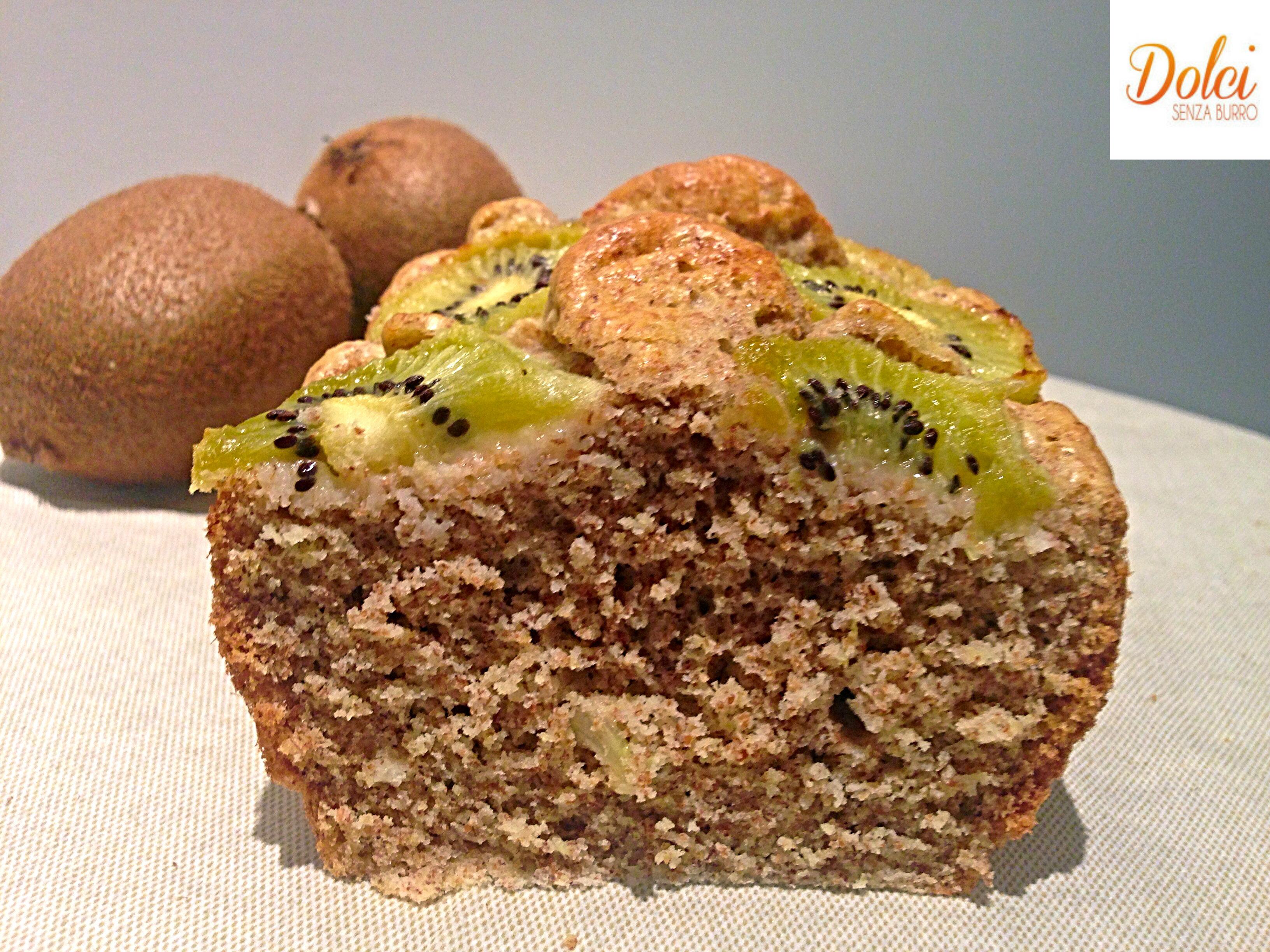 La Torta di Albumi e Kiwi Senza Burro, leggera e golosa di dolci senza burro