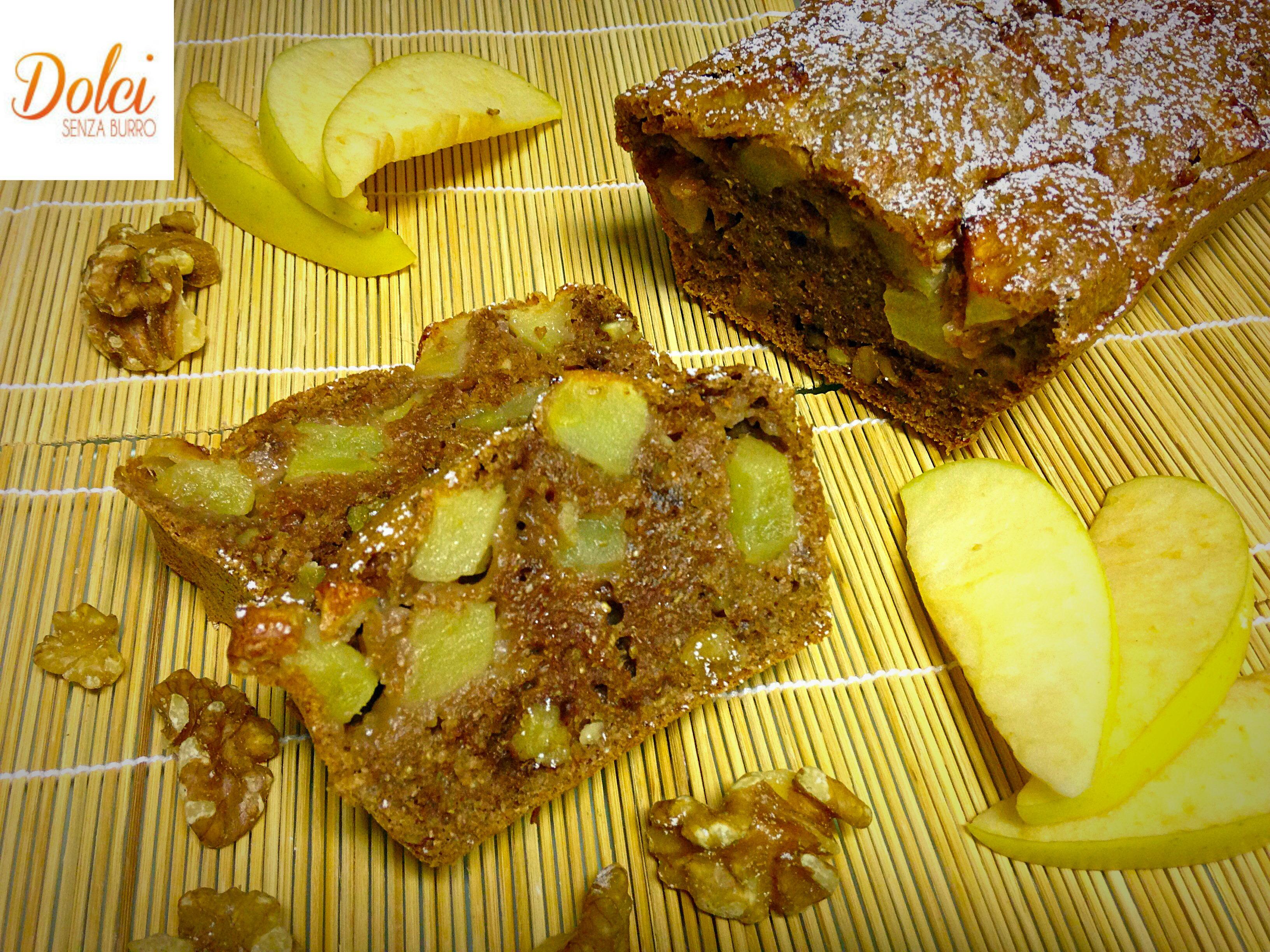 Torta Cioccolato e Pere Light, senza burro e uova di dolci senza burro