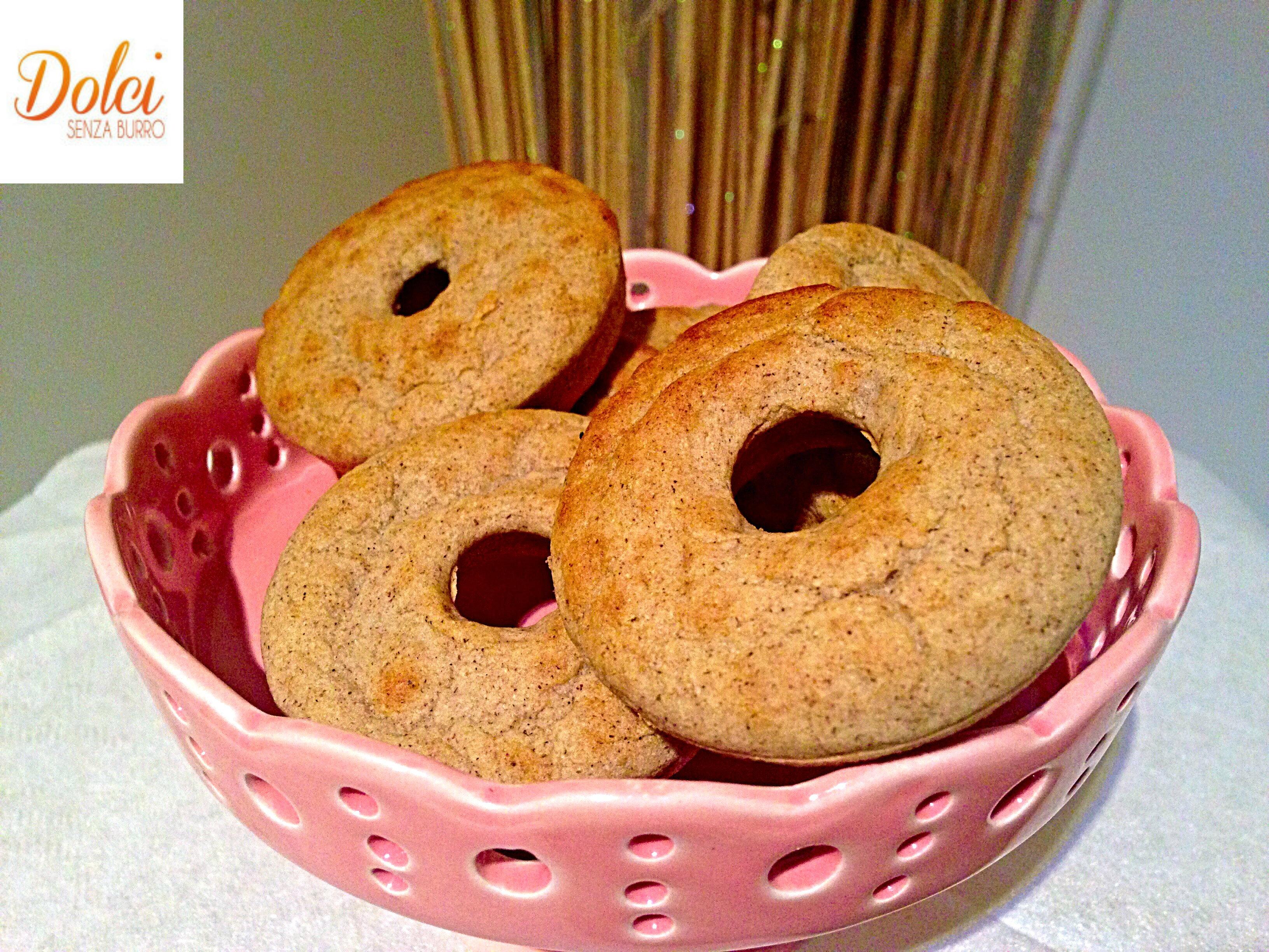 Ciambelline Soffici Integrali Senza Burro, un dolce light per restare in forma di dolci senza burro
