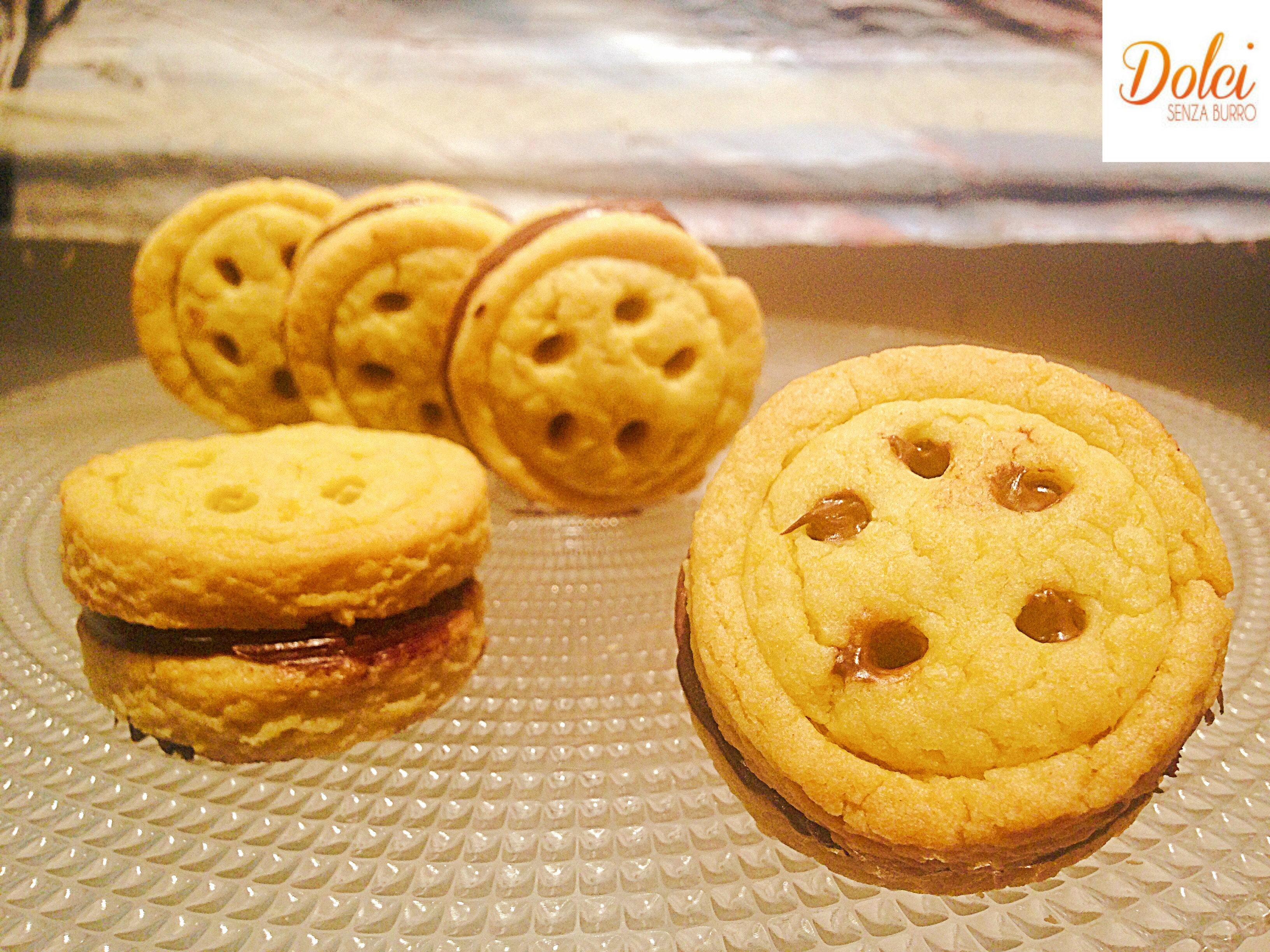 Ricetta baiocchi fatti in casa dolci senza burro - Faretti in casa ...