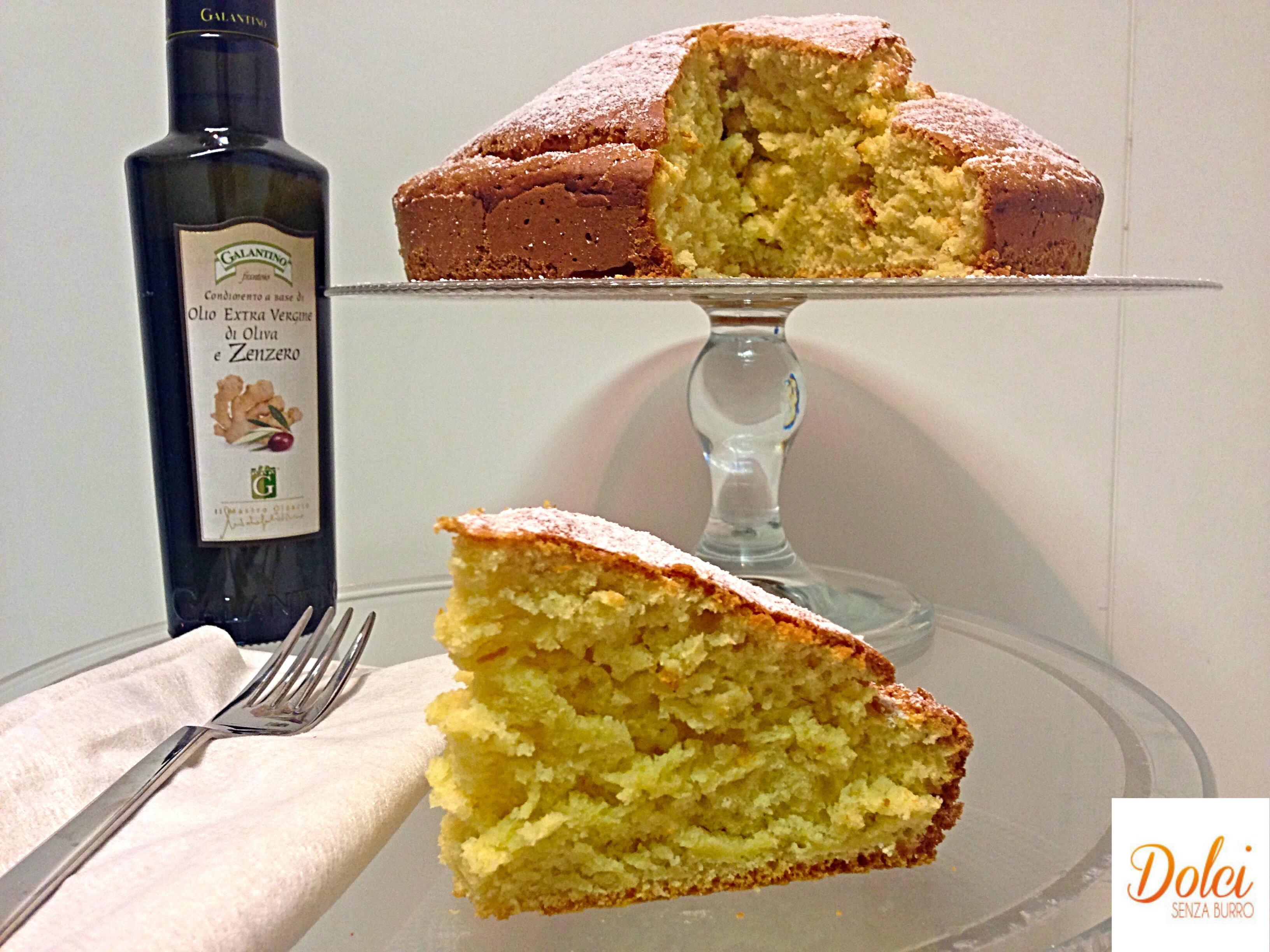 Torta Soffice Al Limone Senza Burro Dolci Senza Burro