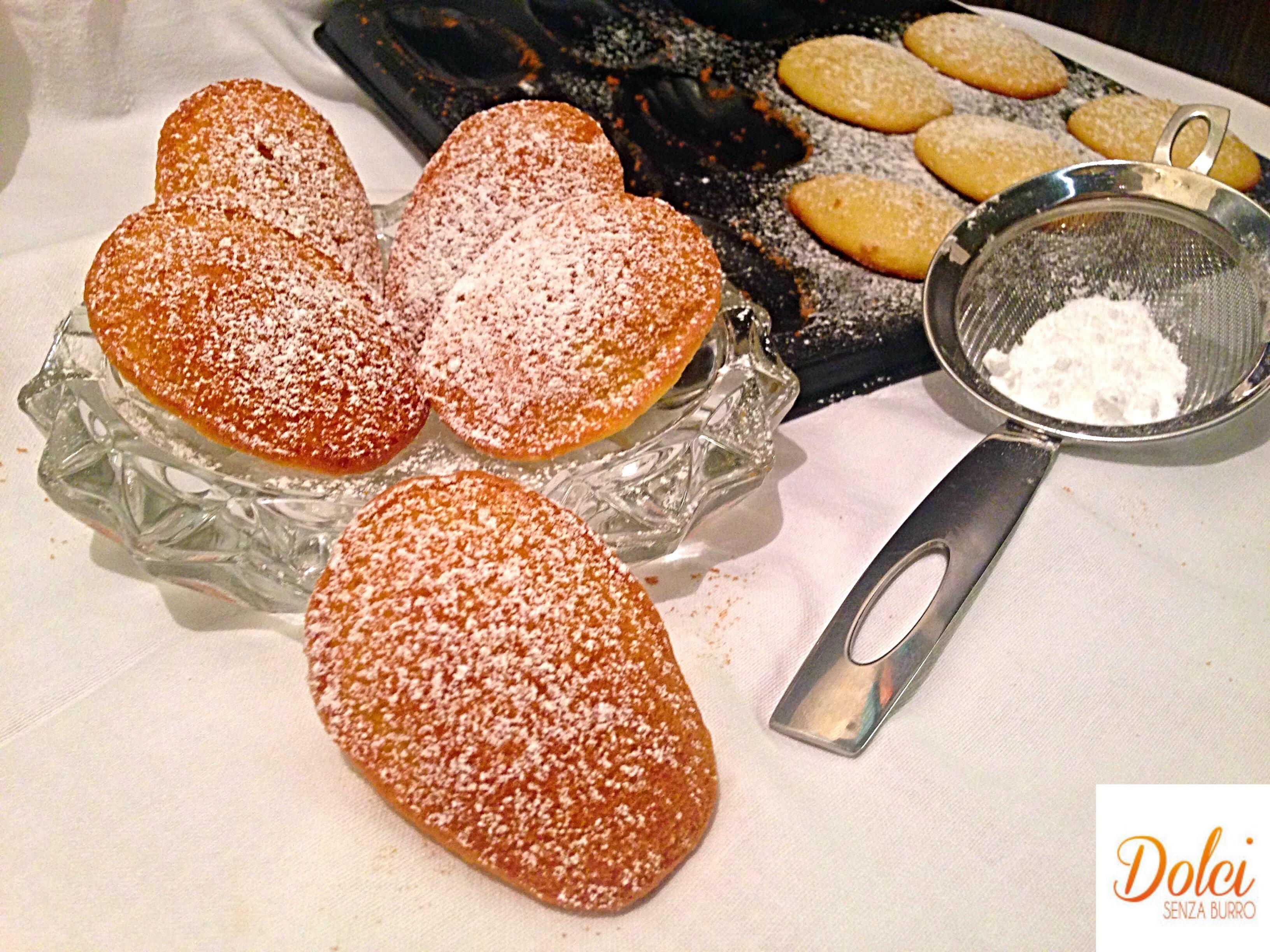Madeleine Light, i famosi dolci francesi in versione leggera di dolci senza burro