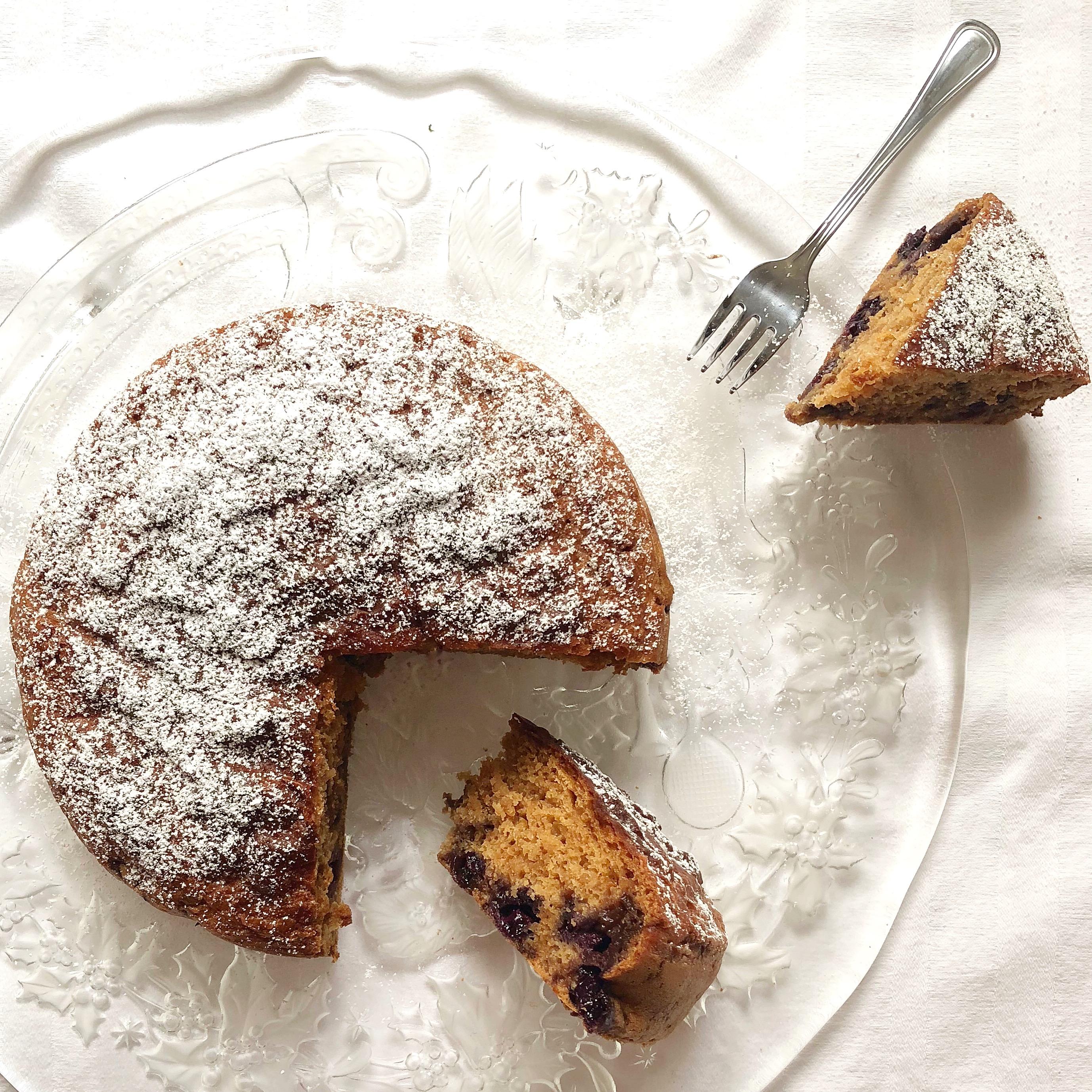 Torta ai Mirtilli Senza Uova e Burro, un dolce light di dolci senza burro