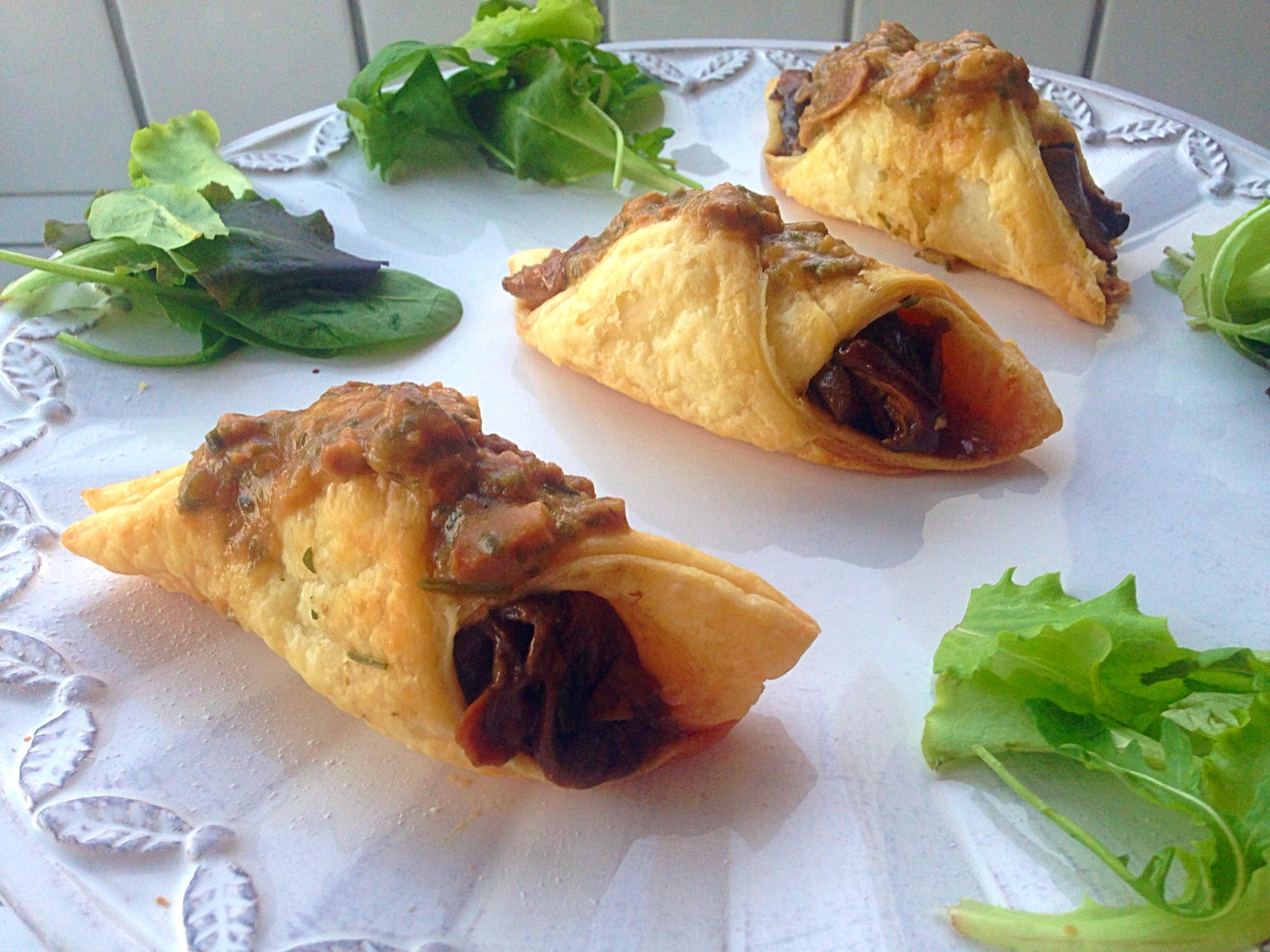 Cannoli Salati ai Funghi, l'antipasto sfizioso e goloso di dolci senza burro
