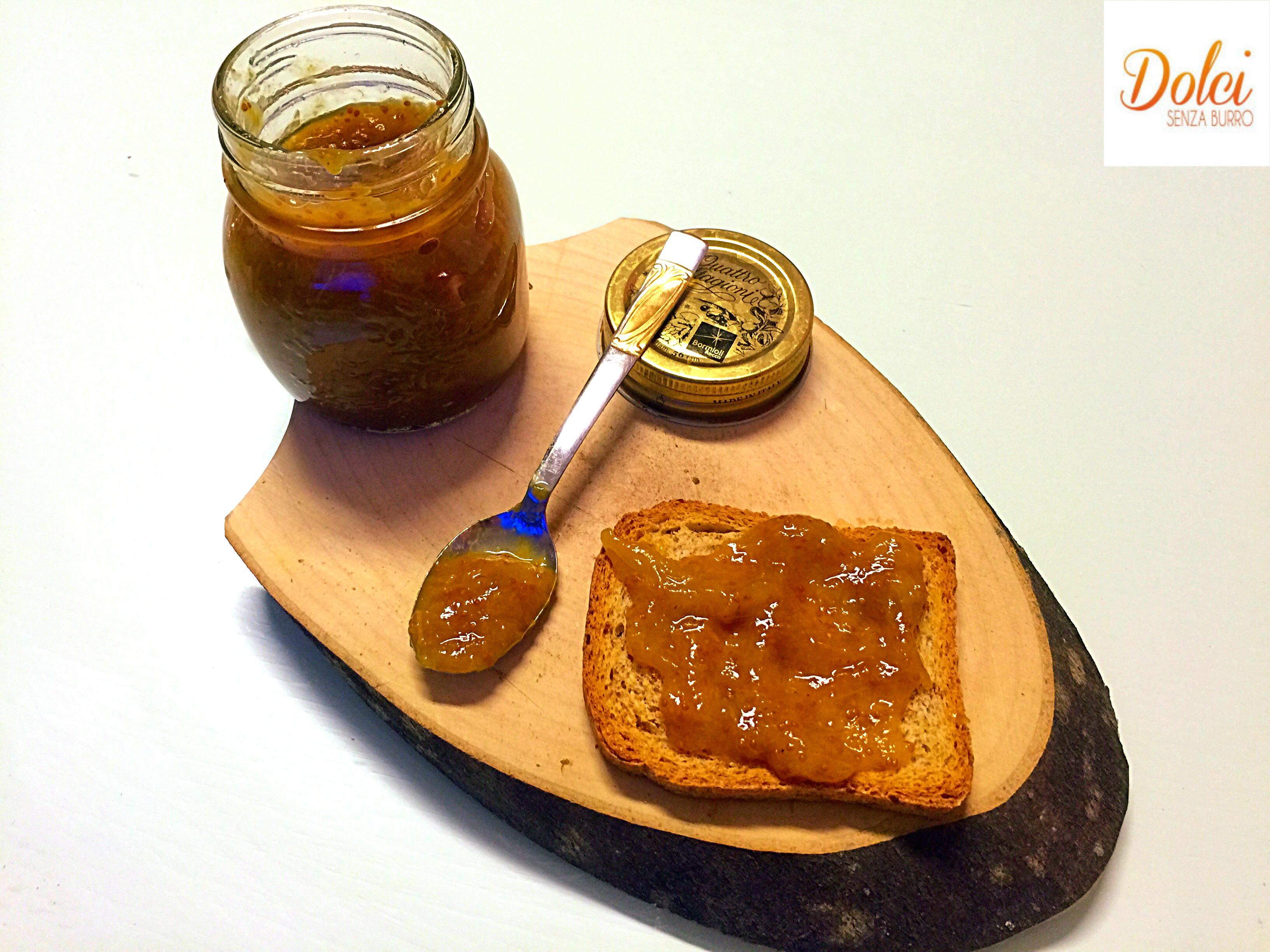 La Marmellata di Fichi e cannella preparata da dolci senza burro con Cuko di Imetec
