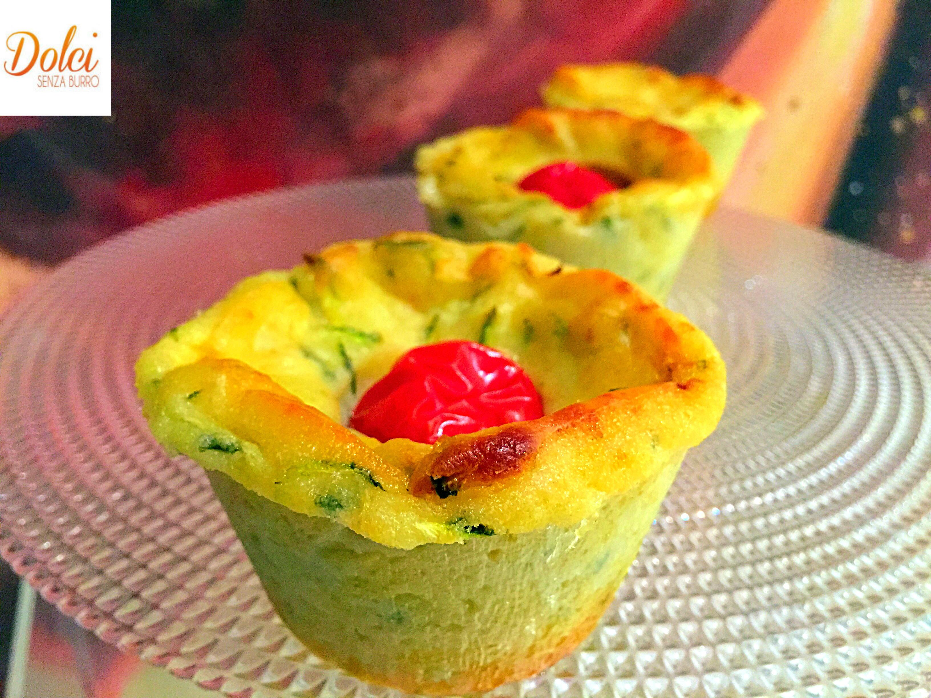 Muffin di Zucchine e Ricotta, i golosi muffin salati preparati con cuko di Imetec da dolci senza burro
