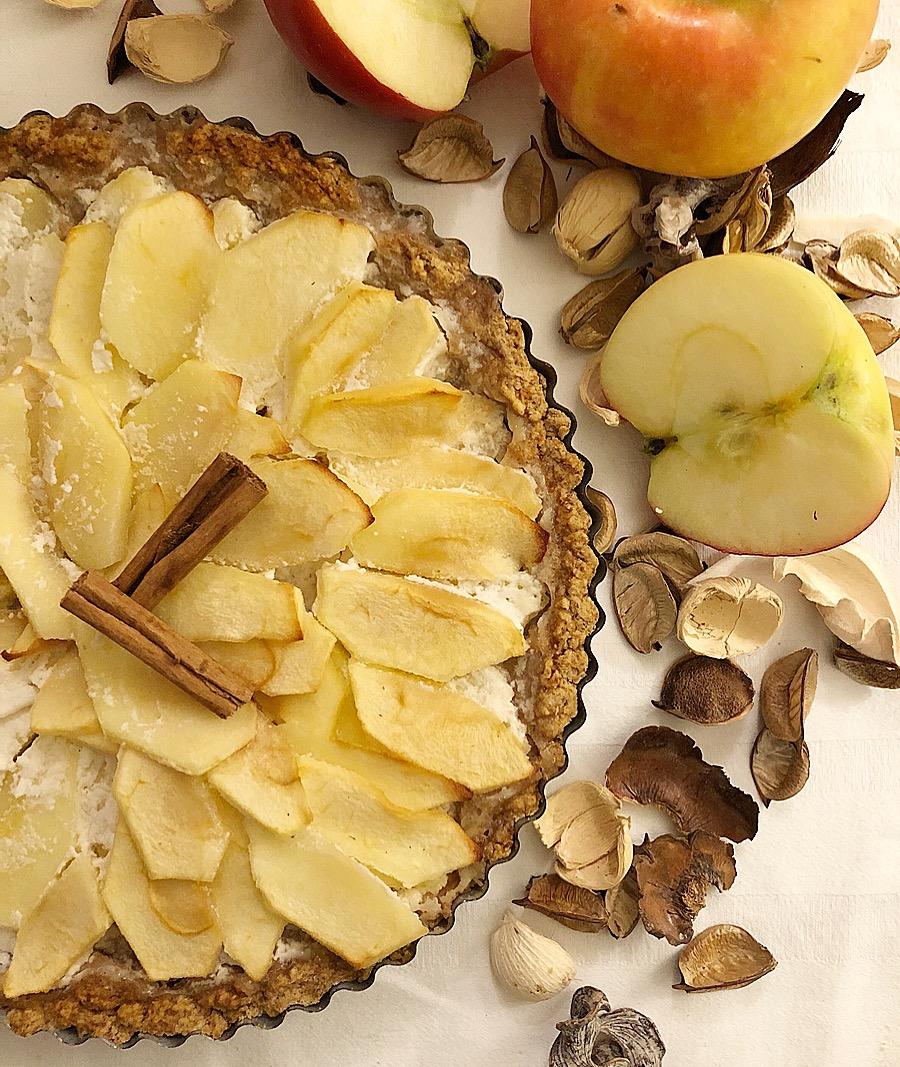 Torta di Mele Alsaziana, un dolce semplice dal gusto avvolgente e delicato di dolci senza burro