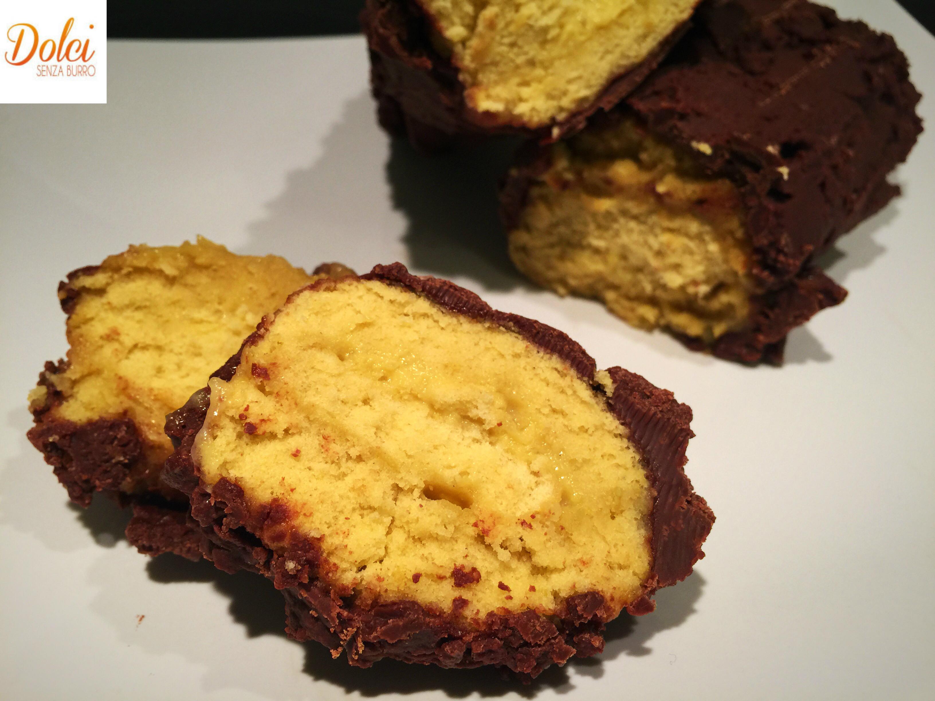 Rotolo al Cioccolato Senza Burro, il dolce goloso e sfizioso di dolci senza burro