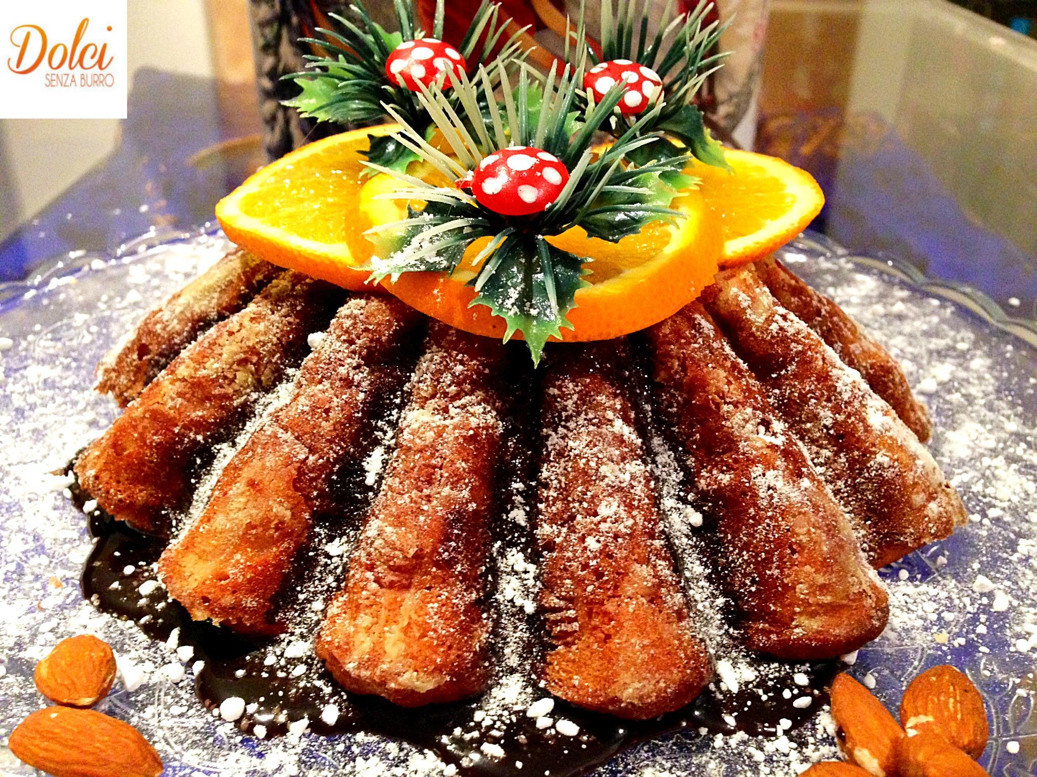 Torta Arancia e Mandorle Senza Burro, il dolce facile ma goloso di dolci senza burro