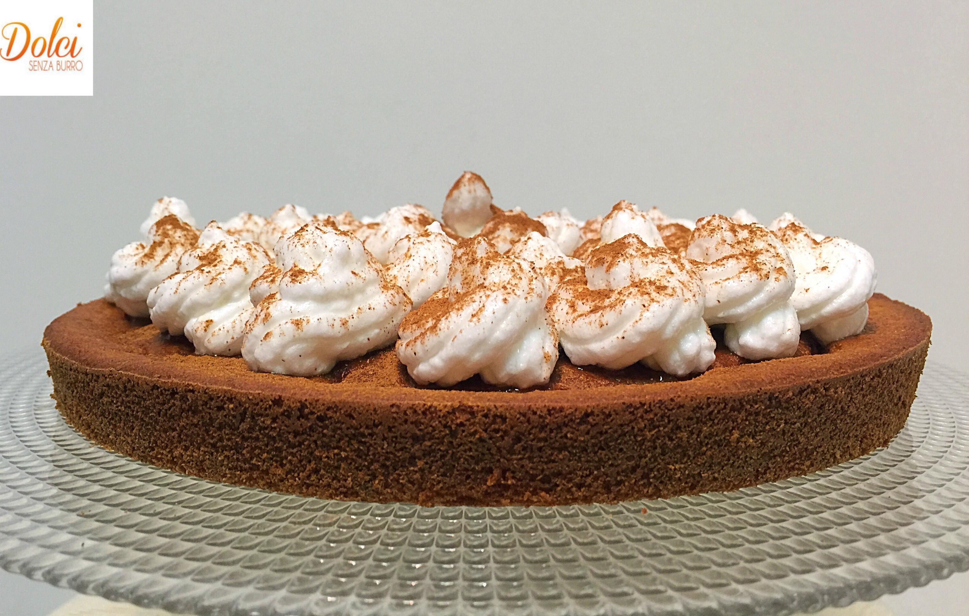 Torta di Zucca Meringata Senza Burro, il dolce delicato e goloso di dolci senza burro