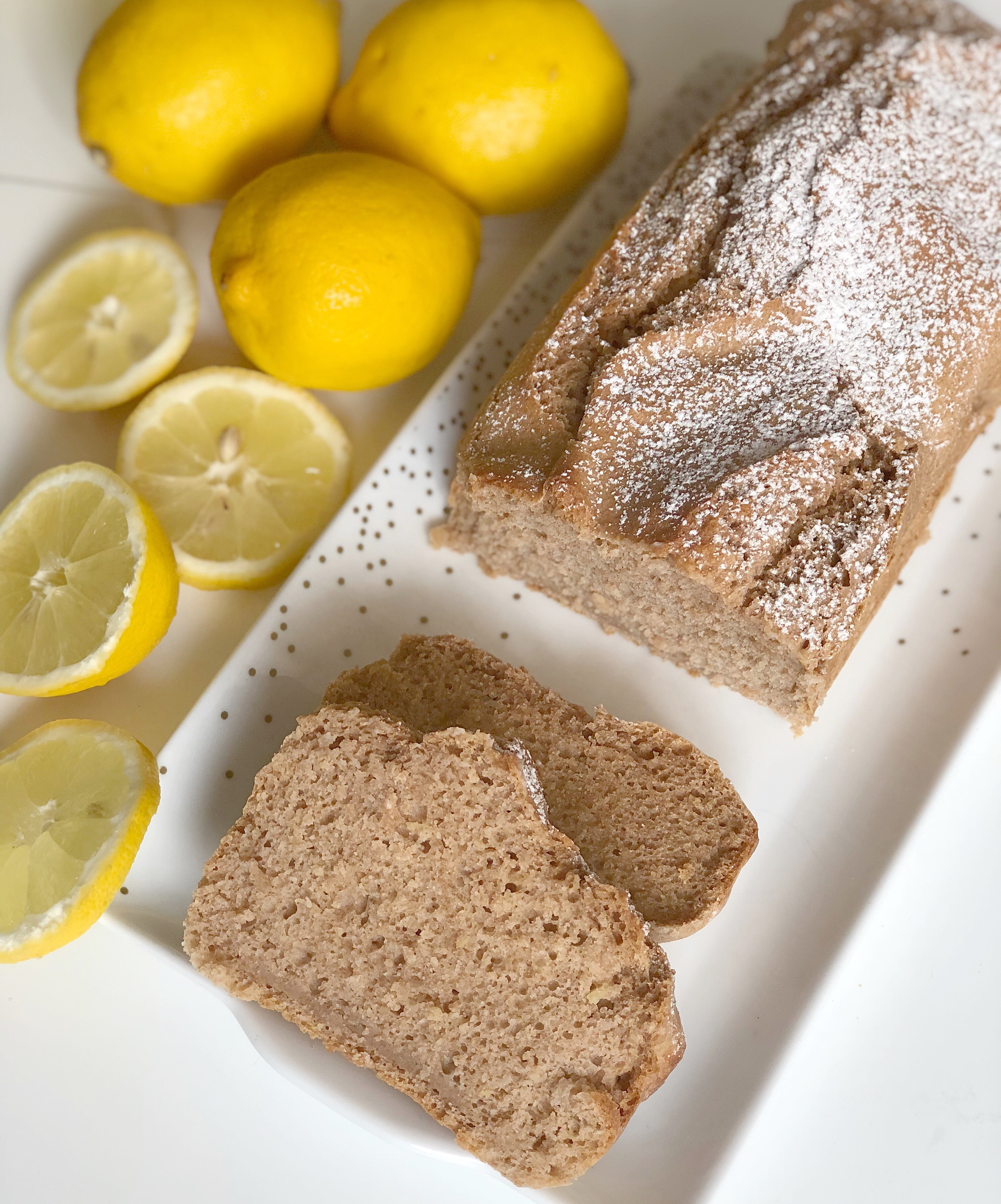 Torta Integrale al Limone Senza Burro, un dolce goloso e leggero di dolci senza burro
