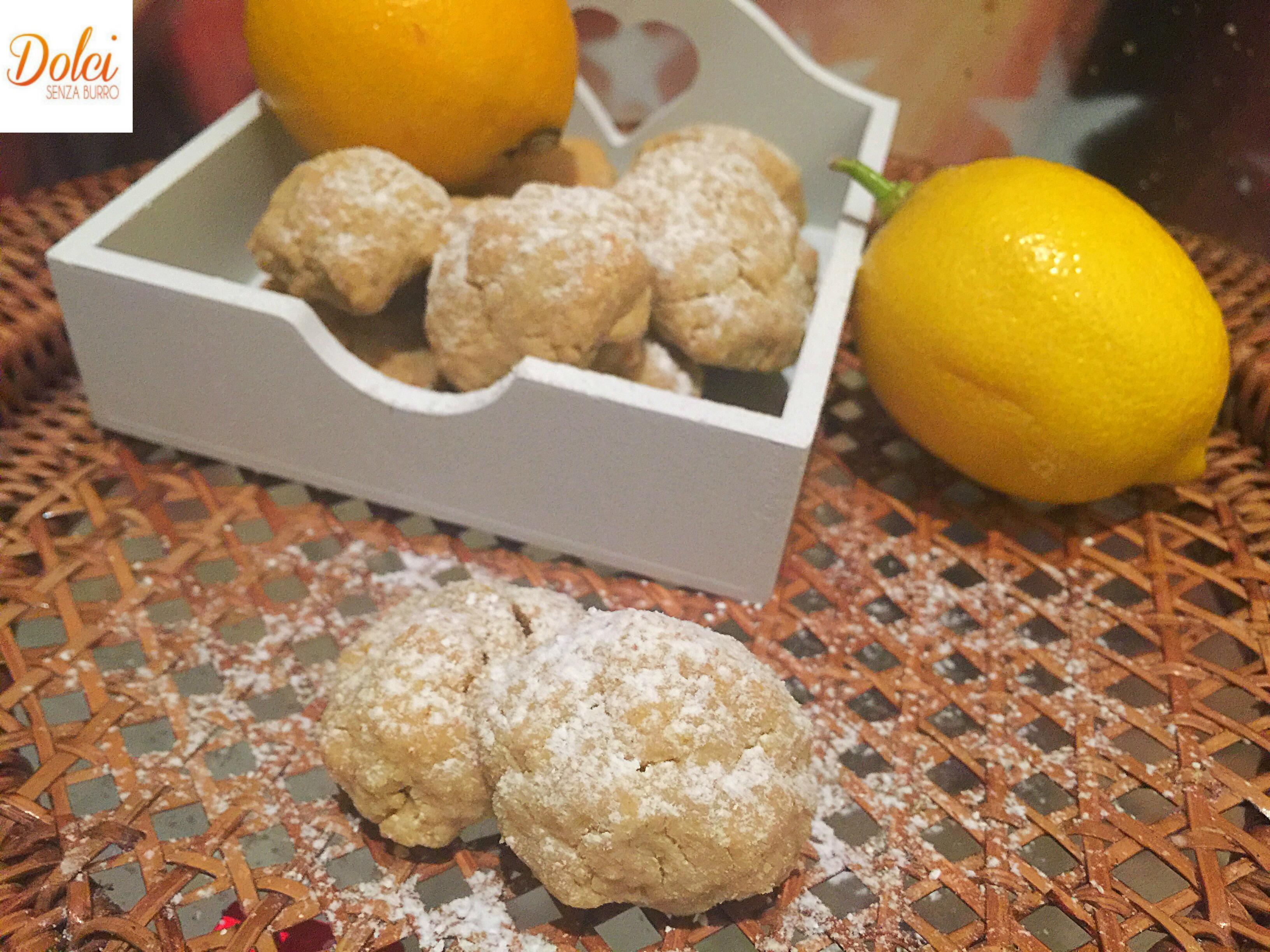 Biscotti al Limone Senza Burro leggeri golosi e profumati di dolci senza burro
