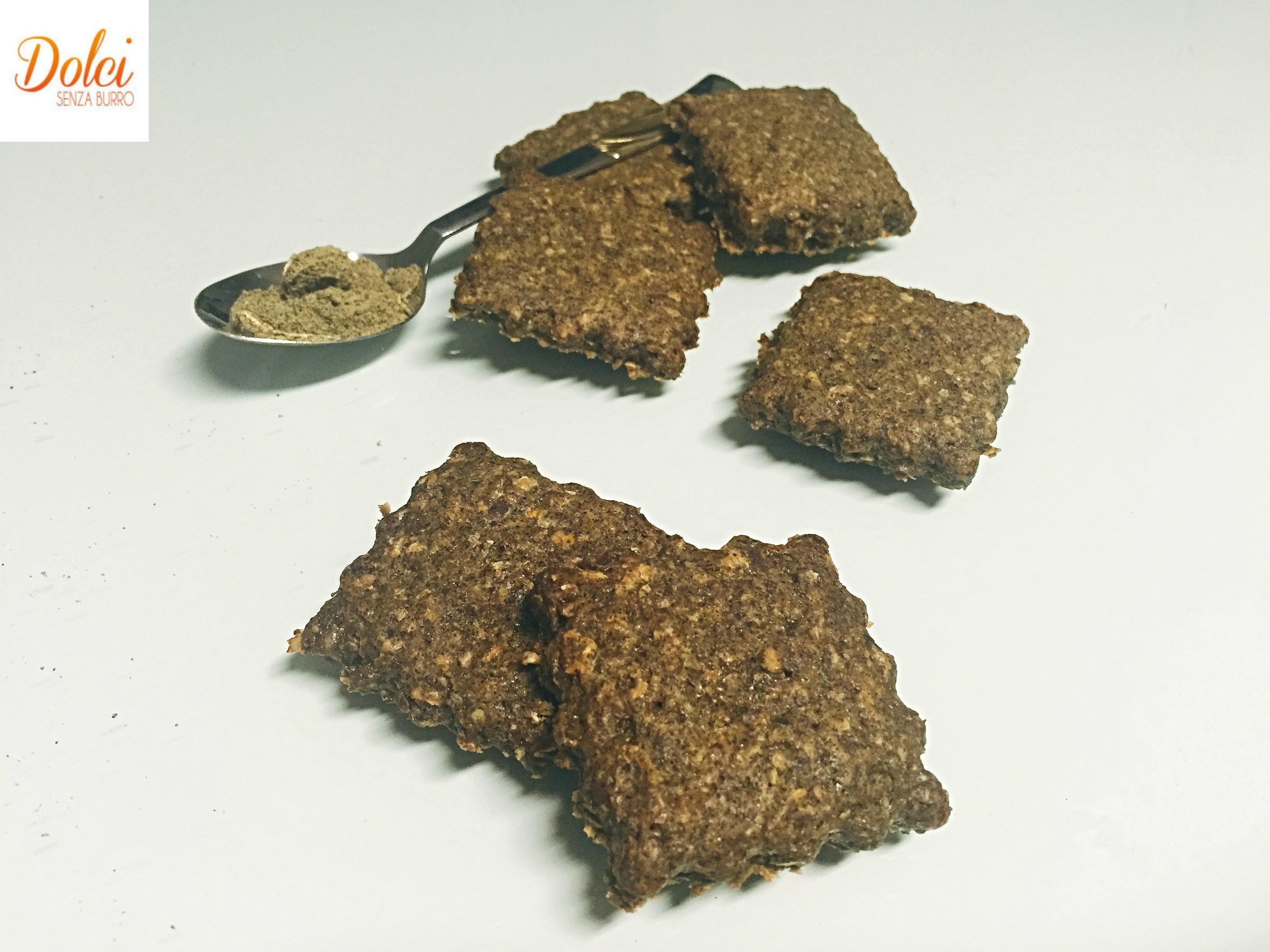 Biscotti con Farina di Canapa Senza Burro, dei biscotti light dal gusto originale adatti a intolleranti al lattosio, alle uova, ai vegani e ai celiaci di dolci senza burro