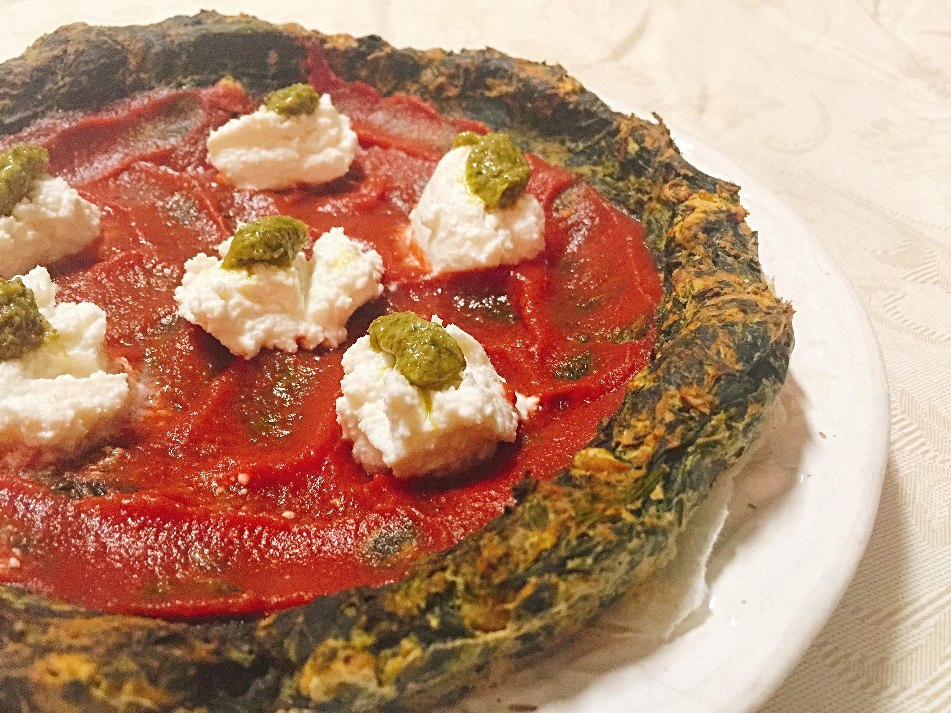 Pizza Senza Farina, ovvero la pizza finta vegetale di dolci senza burro