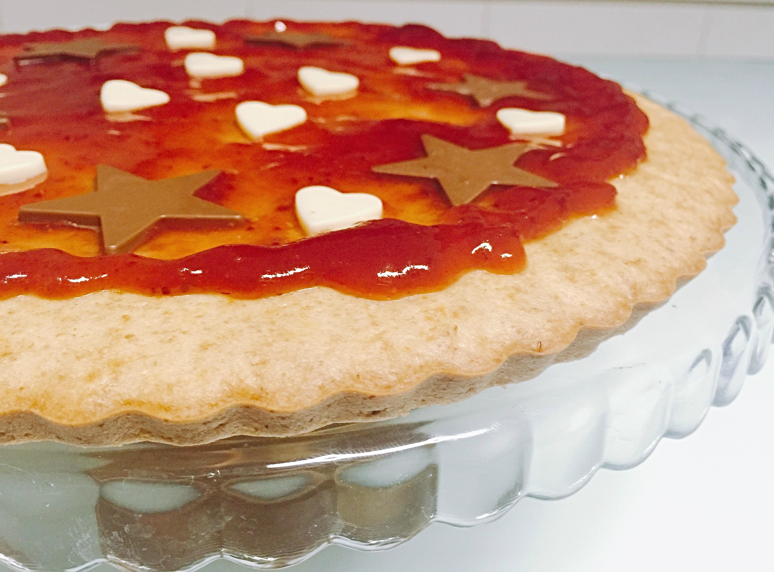 Crostata Morbida Senza Burro, una variante golosa,delicata leggera della classica crostata di dolci senza burro