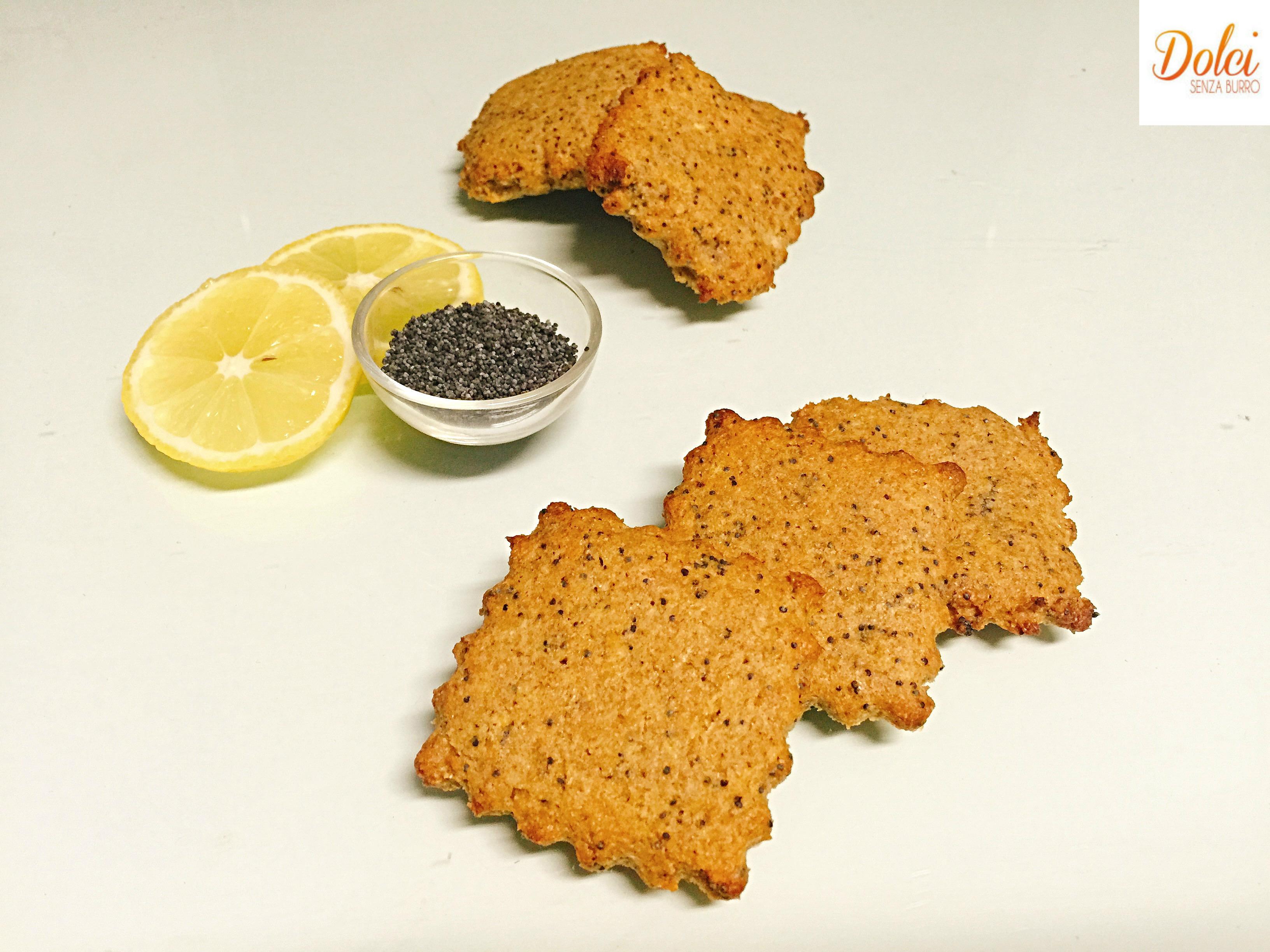 Biscotti al Limone Senza Burro e Uova, leggeri e golosi adatti a intolleranti e vegani di dolci senza burro