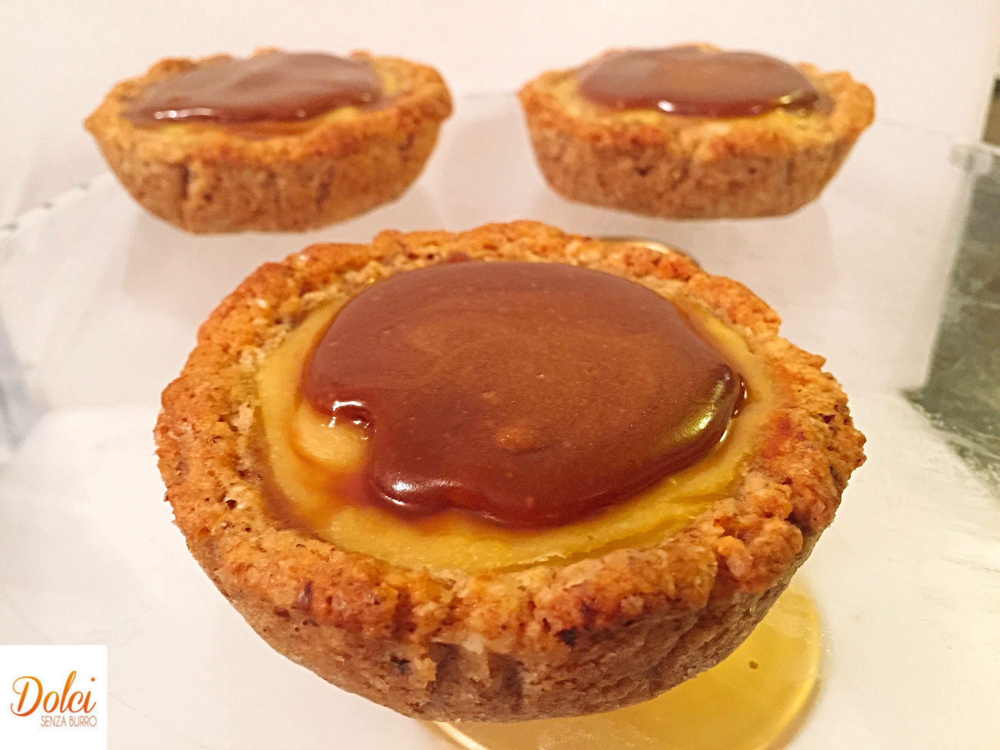 Le Crostatine alla Crema e Mou Senza Burro, un dolce sfizioso e goloso di dolci senza burro