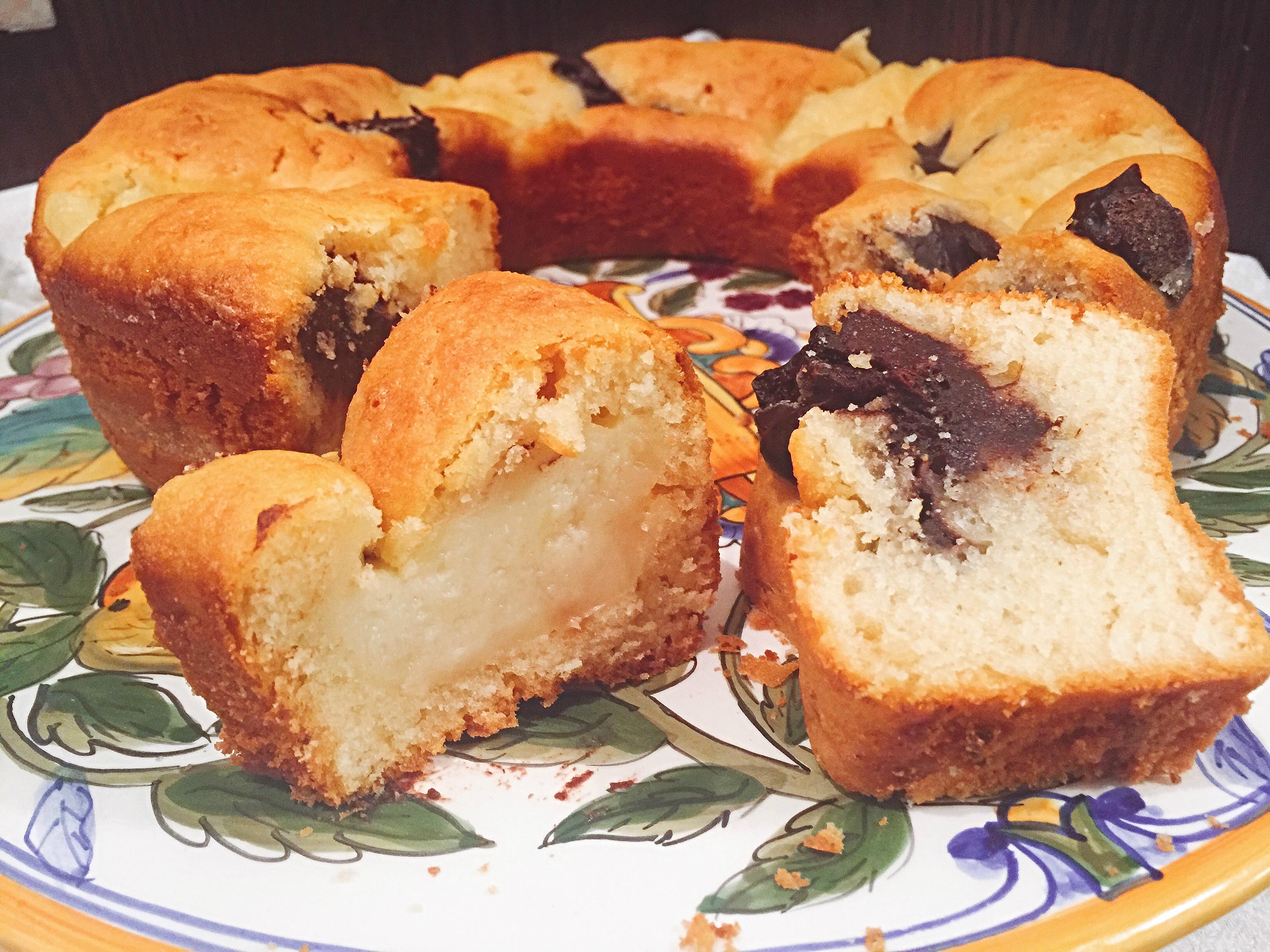 Torta Nua Bigusto! La famosa torta in una variante ancora più golosa di dolci senza burro