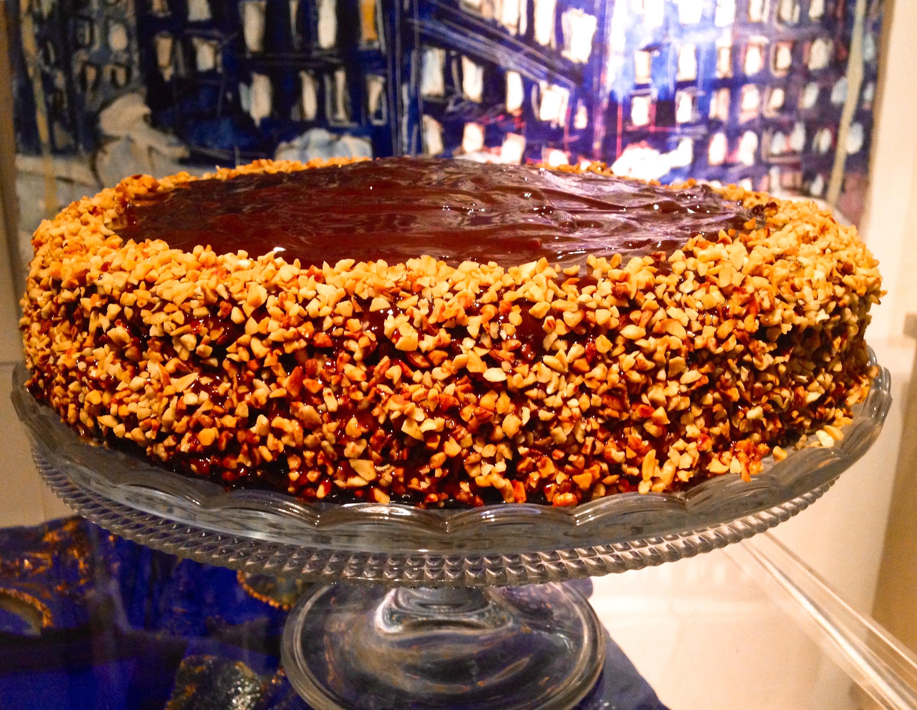 La Torta con ganache al cioccolato senza burro, un dolce da pasticceria di dolci senza burro!