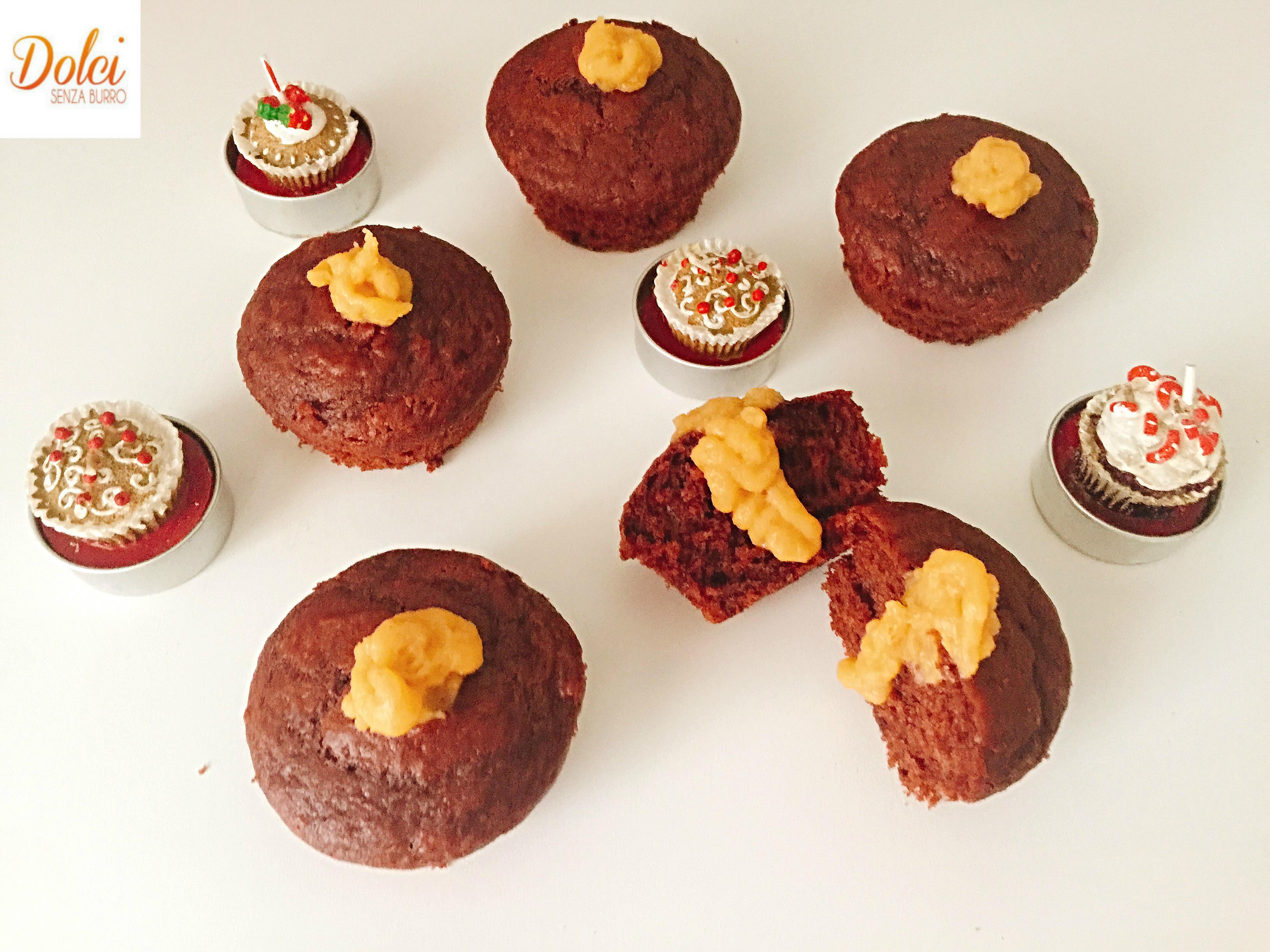 Muffin allo Zabaione Senza Burro, dei golosi muffin soffici e goduriosi di dolci senza burro!