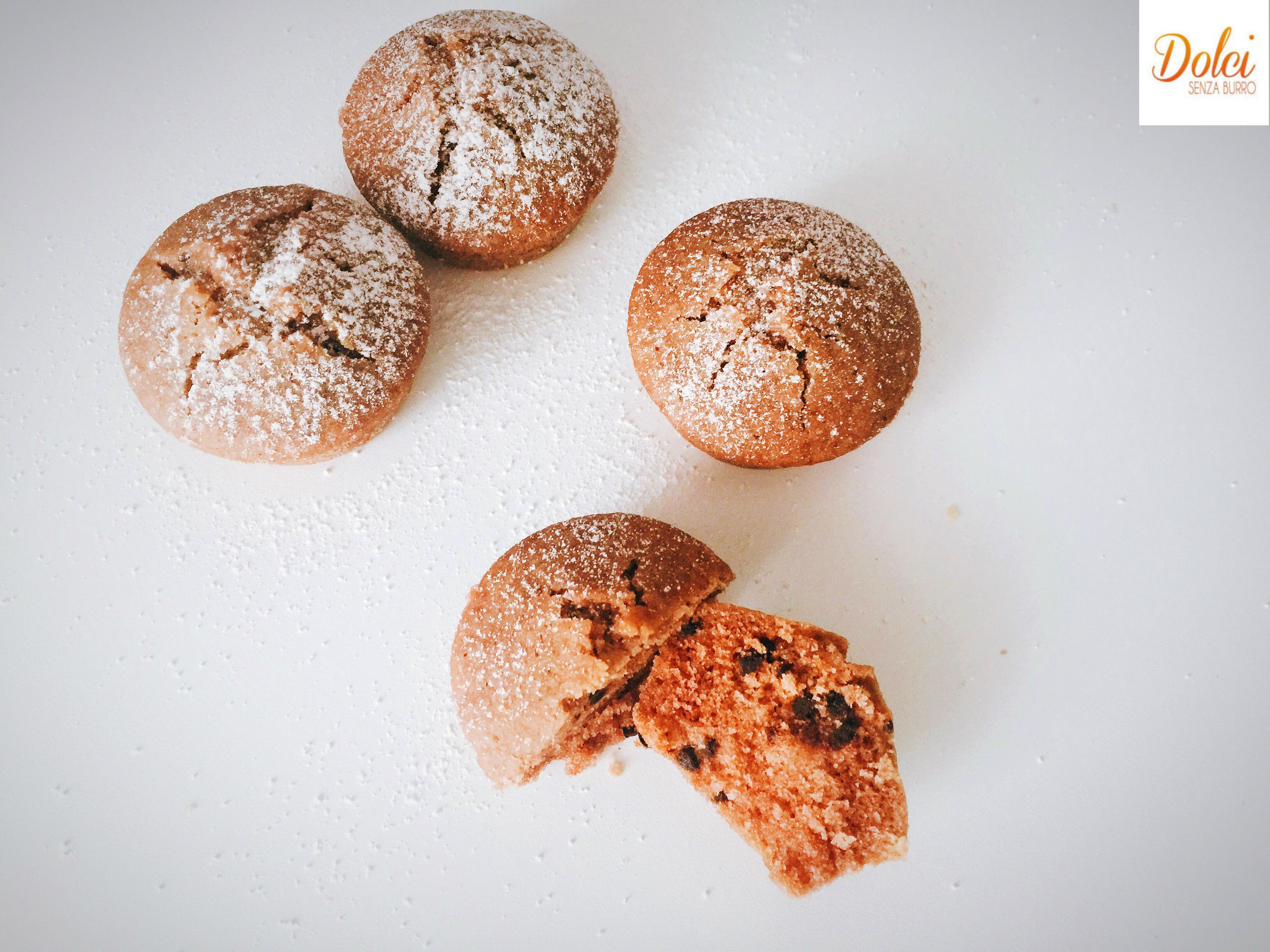 Muffin con Farina di Quinoa Senza Burro adatti a intolleranti e vegani di dolci senza burro