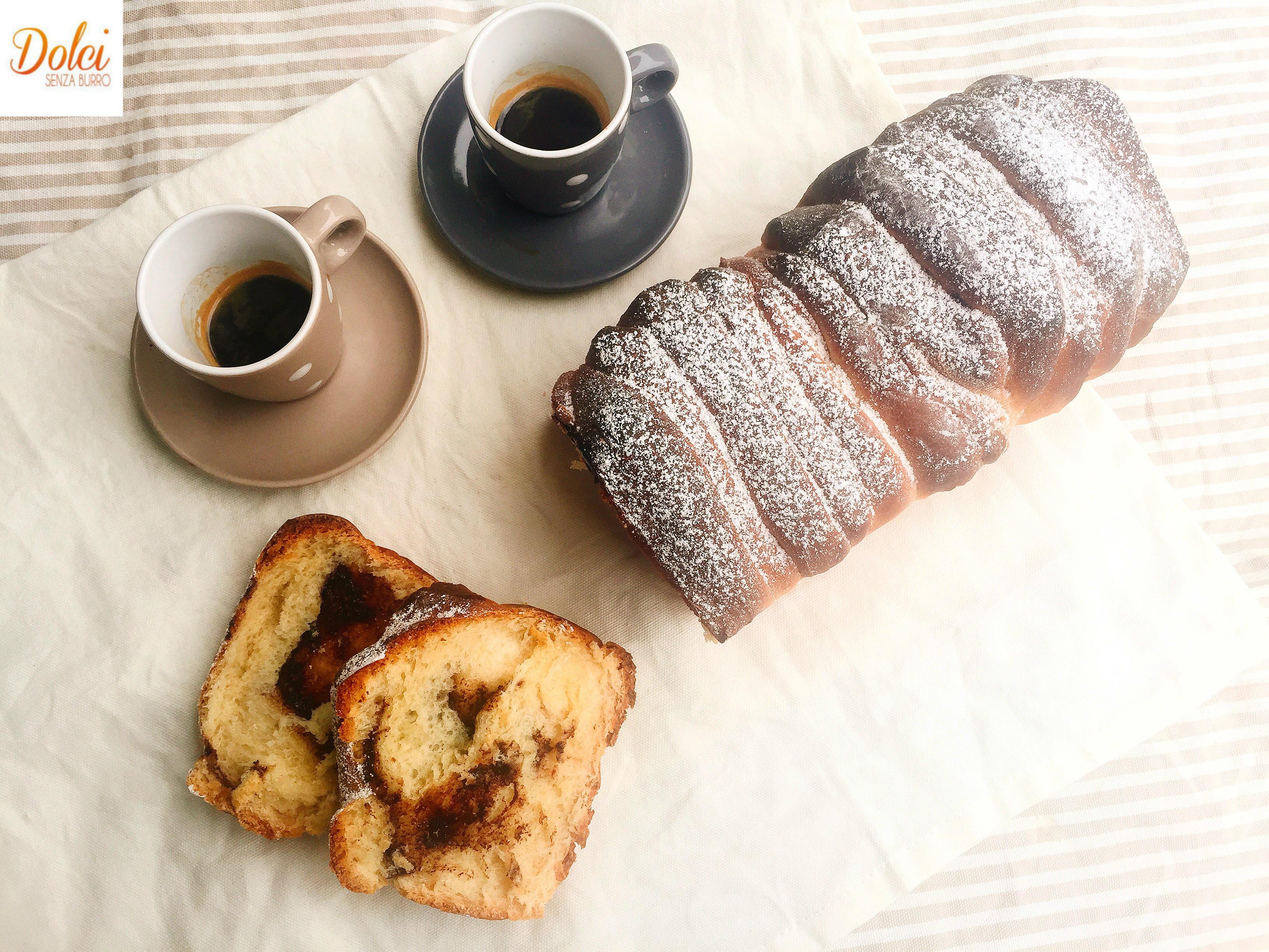 Pull Apart Senza Burro, un pan brioche a fisarmonica soffice e goloso di dolci senza burro
