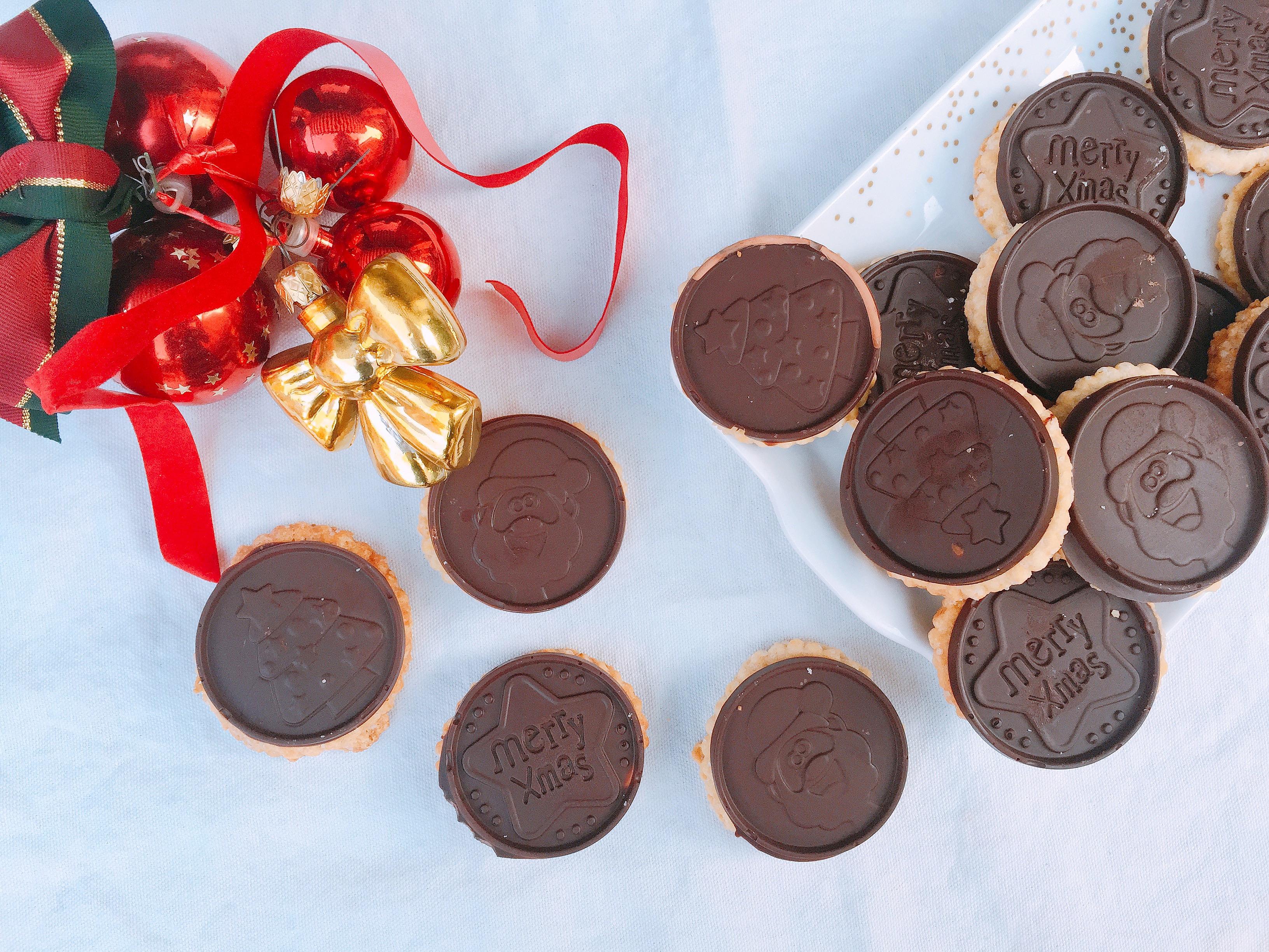 Biscotti di Natale al Cioccolato Senza Burro , per un Natale goloso e speciale di dolci senza burro