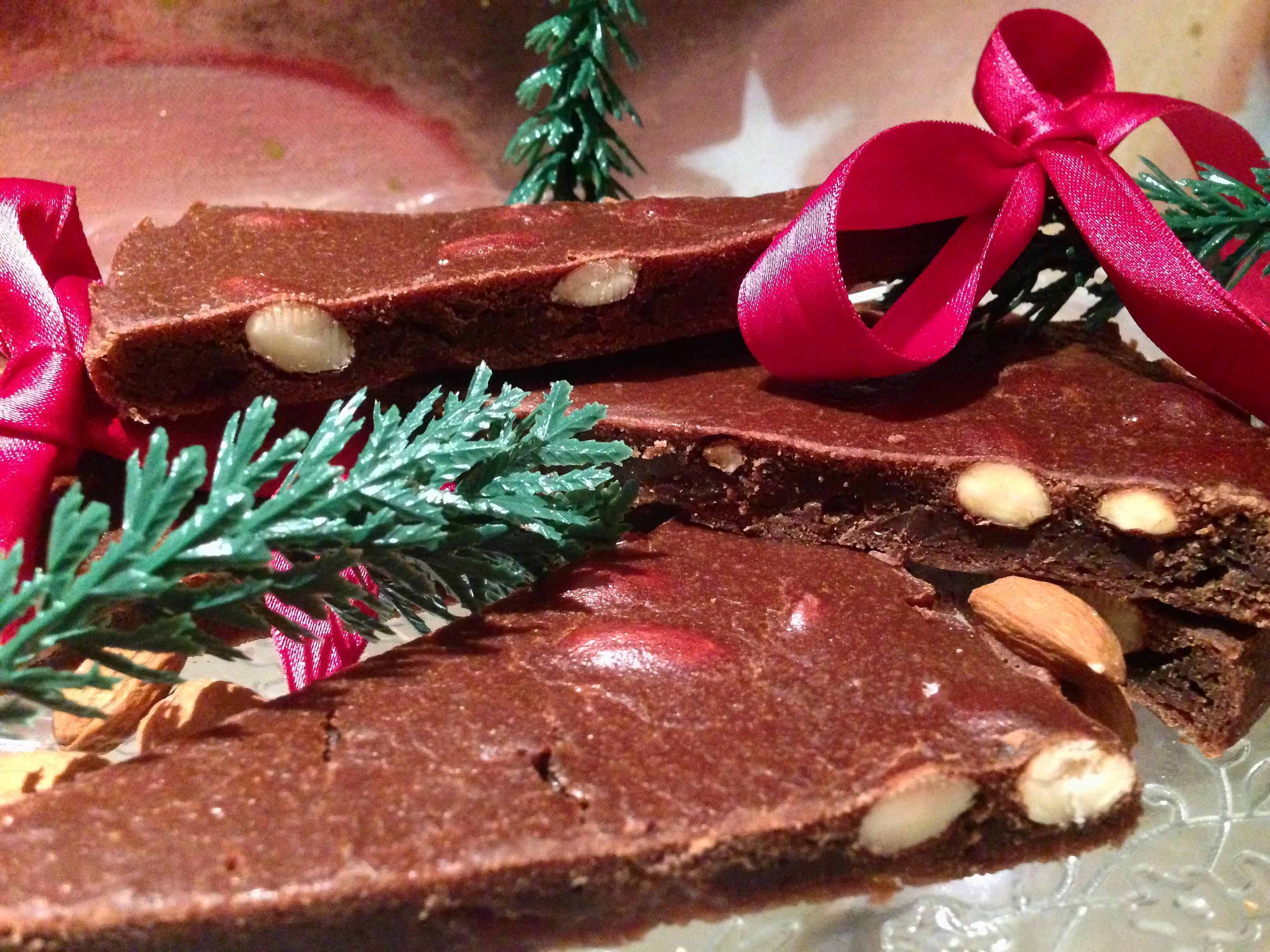 Il Panforte di Siena, il dolce di Natale toscano rivisitato da dolci senza burro!