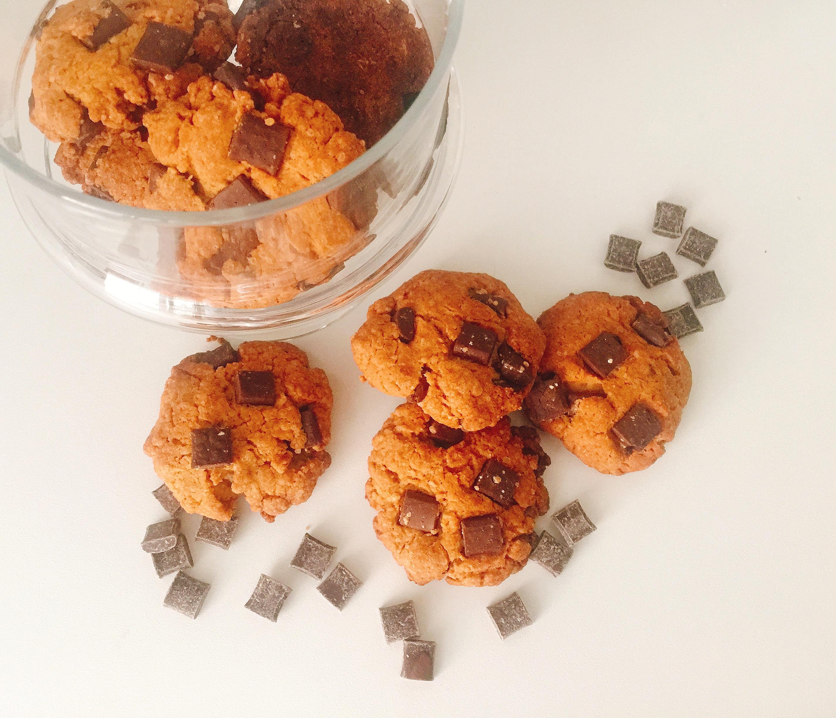 Cookies Vegani al Farro, senza burro e senza uova carichi di gusto di dolci senza burro