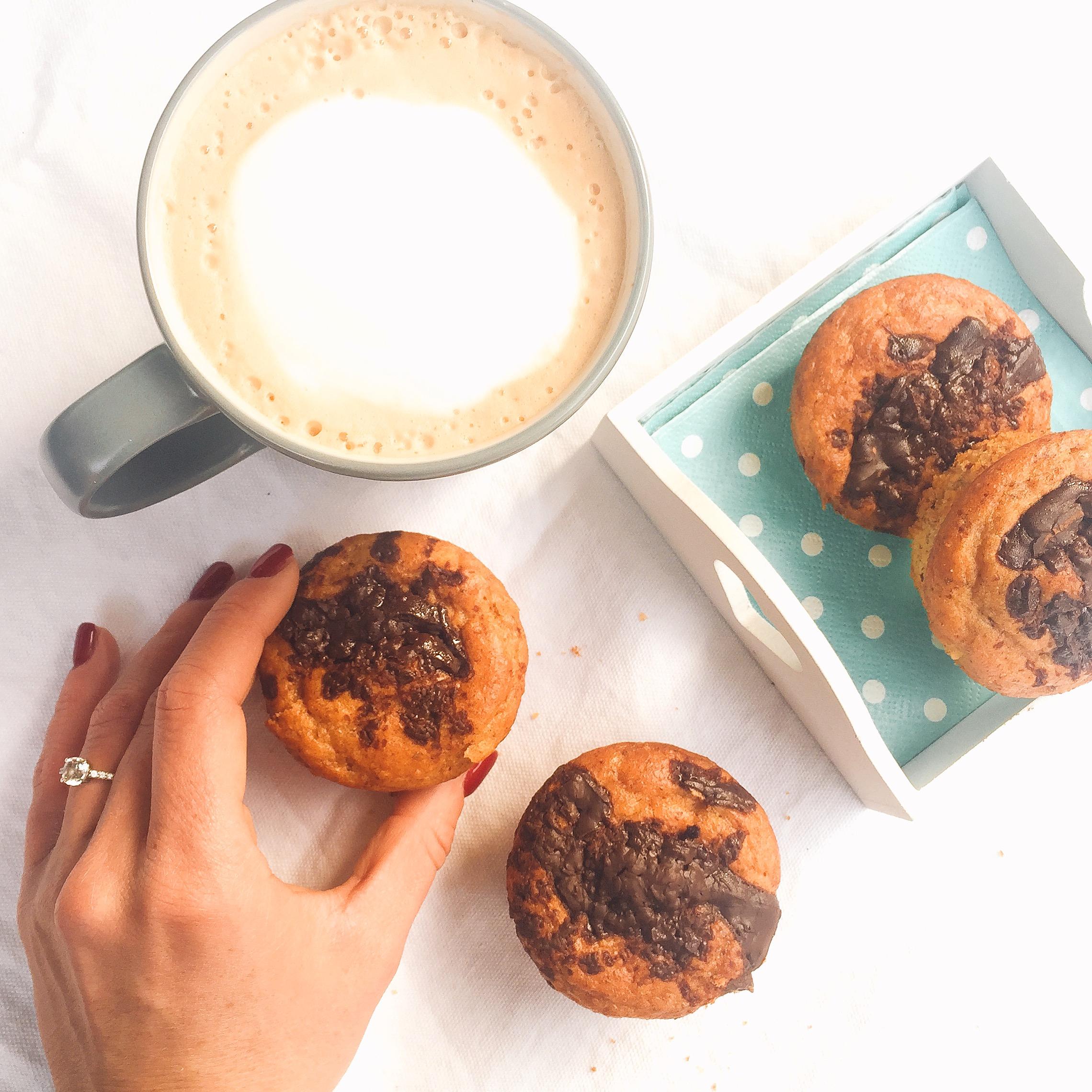 Muffin alla Nocciola Senza Burro supe golosi! Chi non vorrebbe fare colazione cosi?