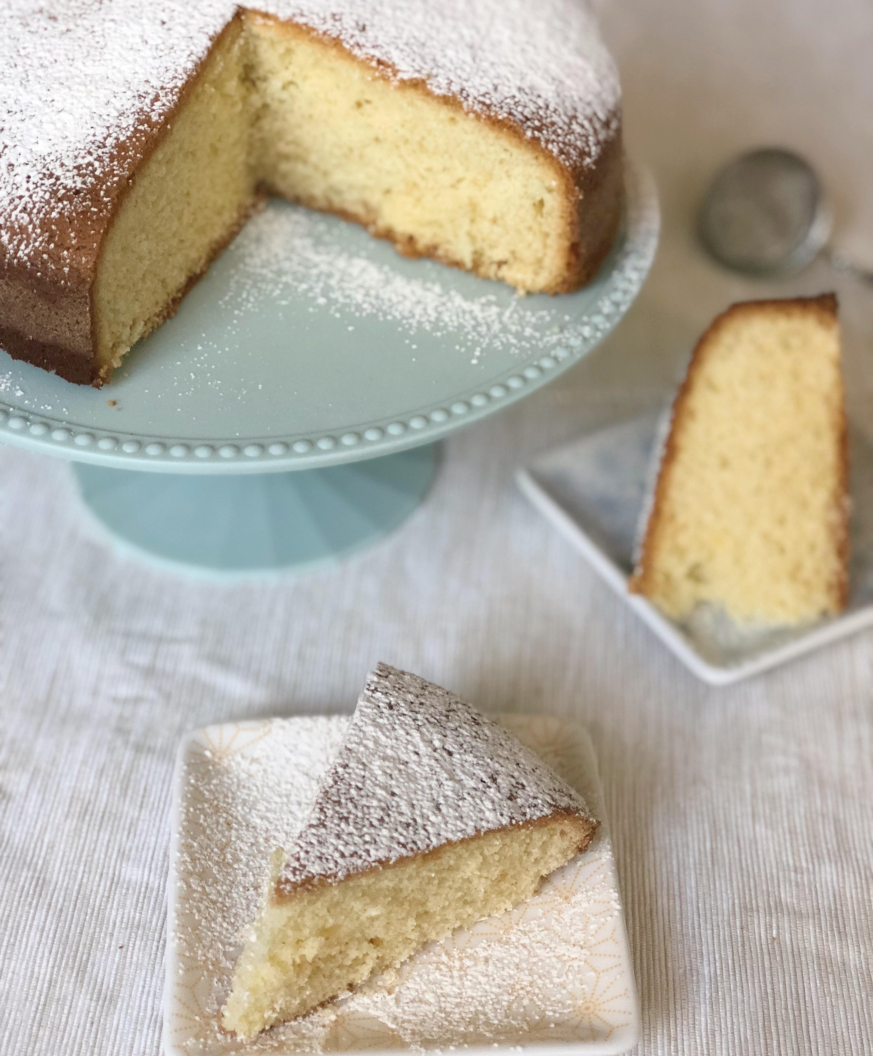 Torta Paradiso Senza Burro, alta soffice e genuina di dolci senza burro