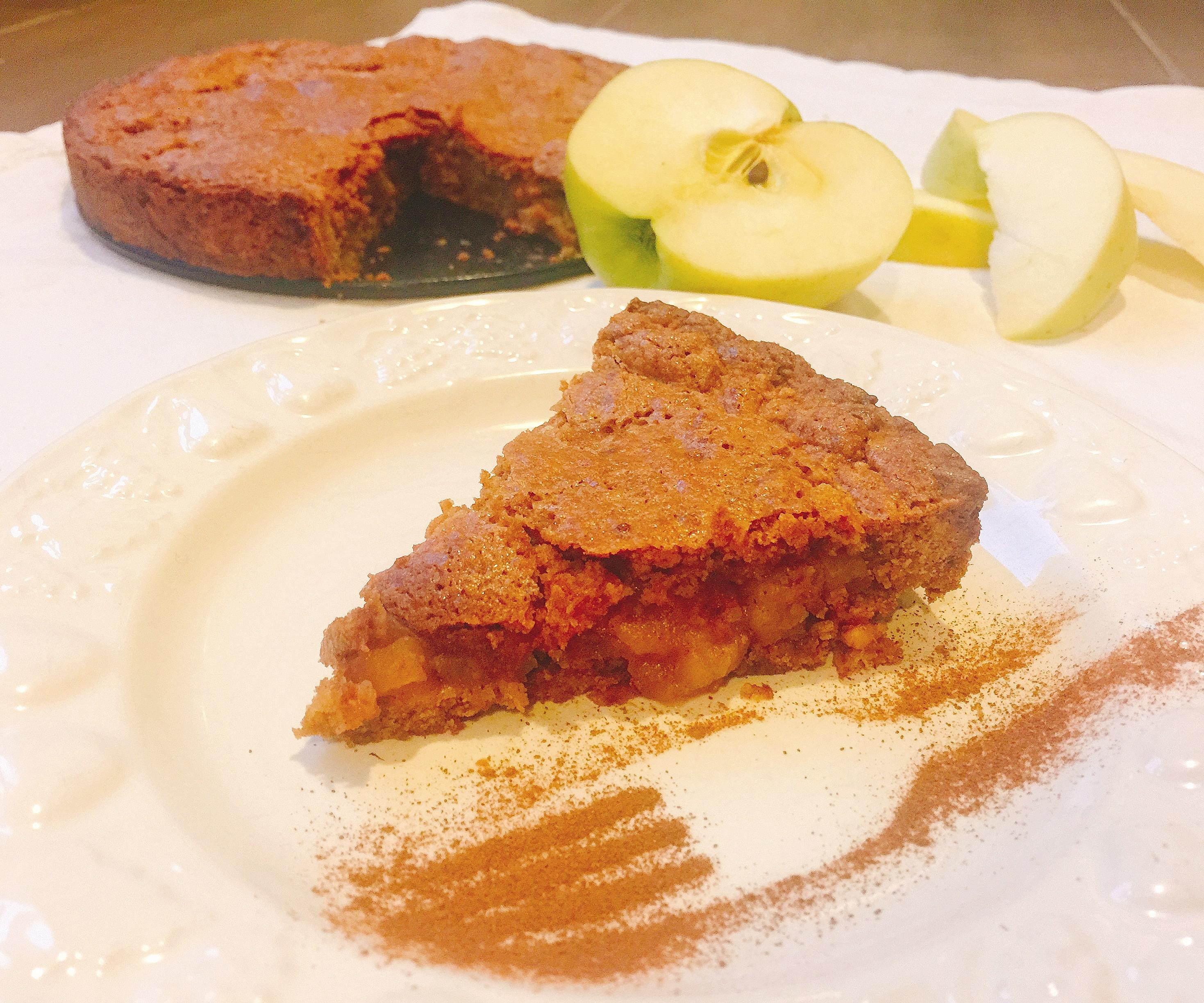 Torta Cuor di Mela Senza Burro un dolce goloso e sfizioso di dolci senza burro