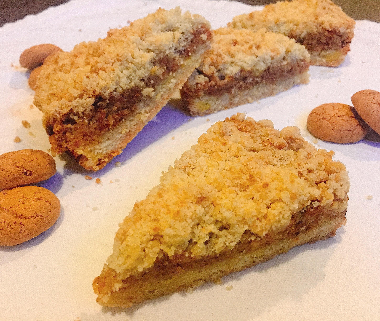 Torta Ricotta e Amaretti Senza Burro, un dolce goloso e sfizioso di dolci senza burro