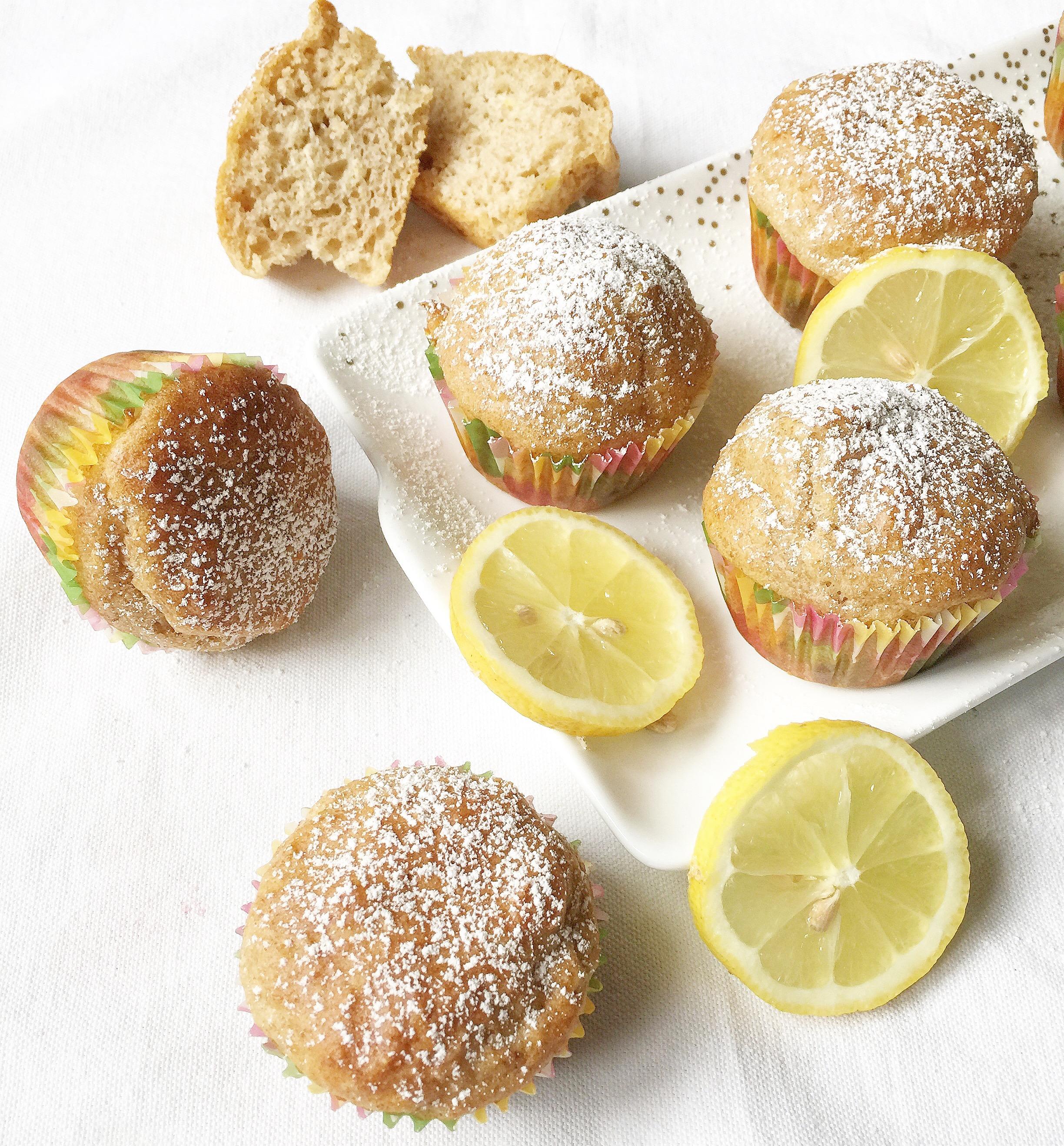 Muffin al Limone Senza Burro, facili e veloci da preparare di dolci senza burro!
