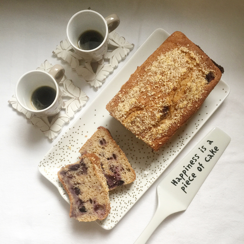 Plumcake Mirtilli e Limone Senza Burro, perfetto per colazioni sane e genuine di dolci senza burro