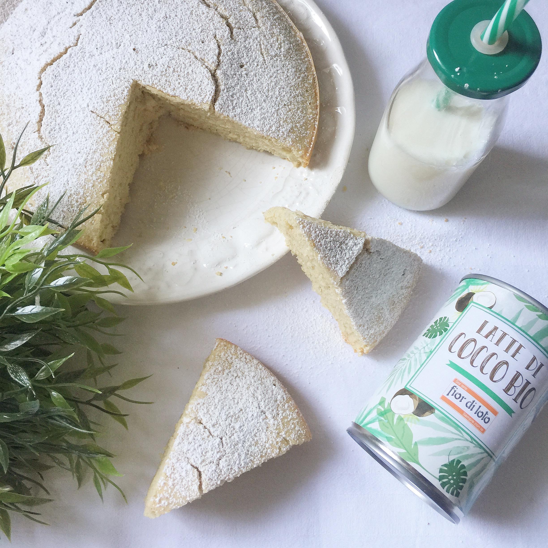 Torta al Latte di Cocco Senza Burro, un dolce facile e veloce da preparare di dolci senza burro