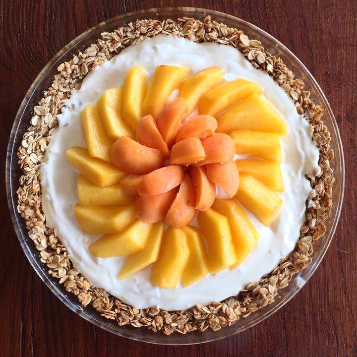 Granola Tart Senza Burro, un dolce originale facile e veloce di dolci senza burro!