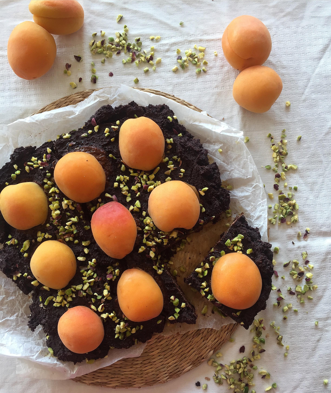 Torta Cioccolato e Albicocche Senza Burro e Uova super golosa leggera e sfiziosa di dolci senza burro
