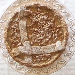 La Crostata con Crema al Latte di Cocco e Limone Senza Burro , un dolce goloso fresco e leggero di dolci senza burro!