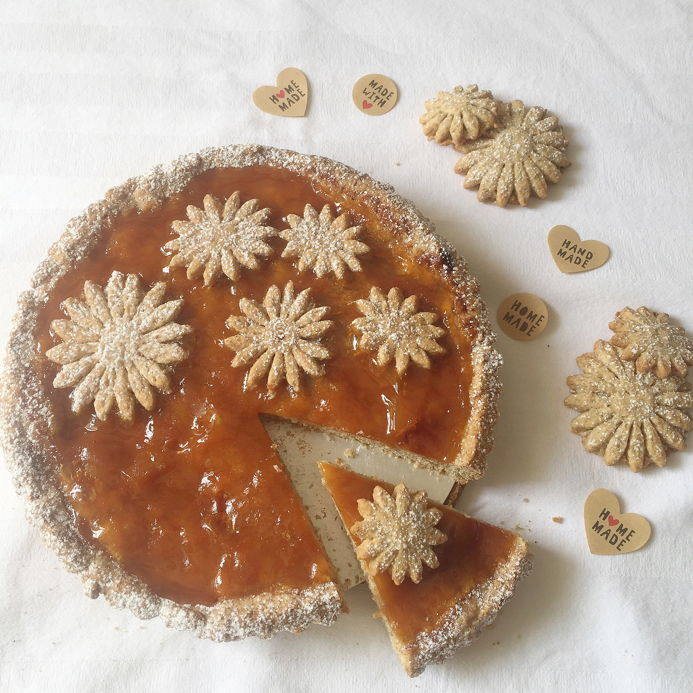 Crostata di Marmellata Senza Burro, una ricetta facile e veloce genuina e golosa di dolci senza burro