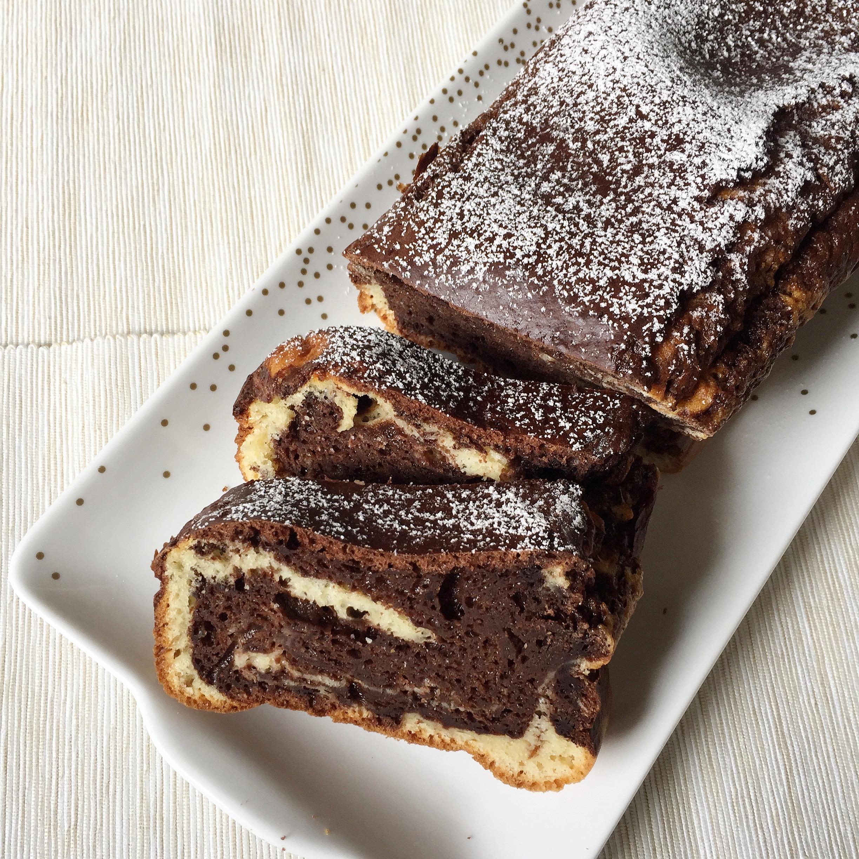 Plumcake Marmorizzato Senza Burro, un classico dolce da colazione di dolci senza burro