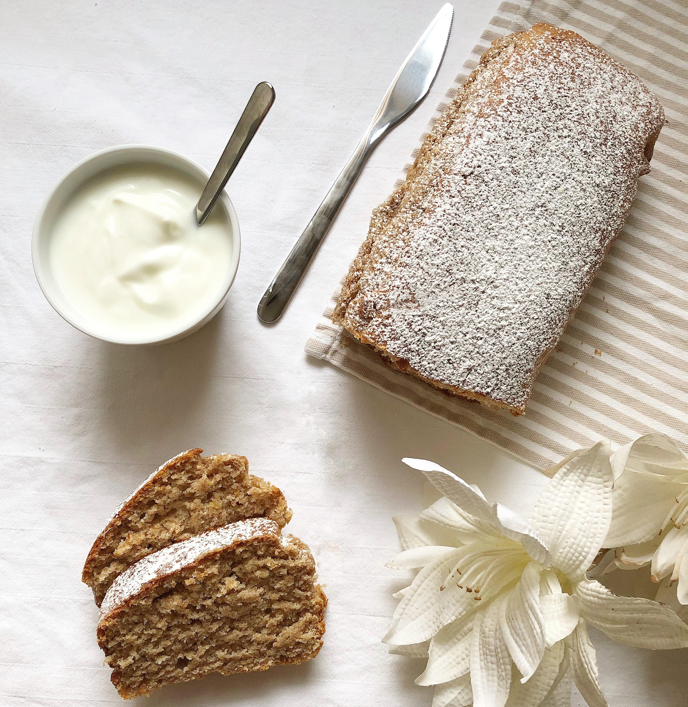 Plumcake allo Yogurt Senza Burro e Uova,il dolce light senza grassi di dolci senza burro