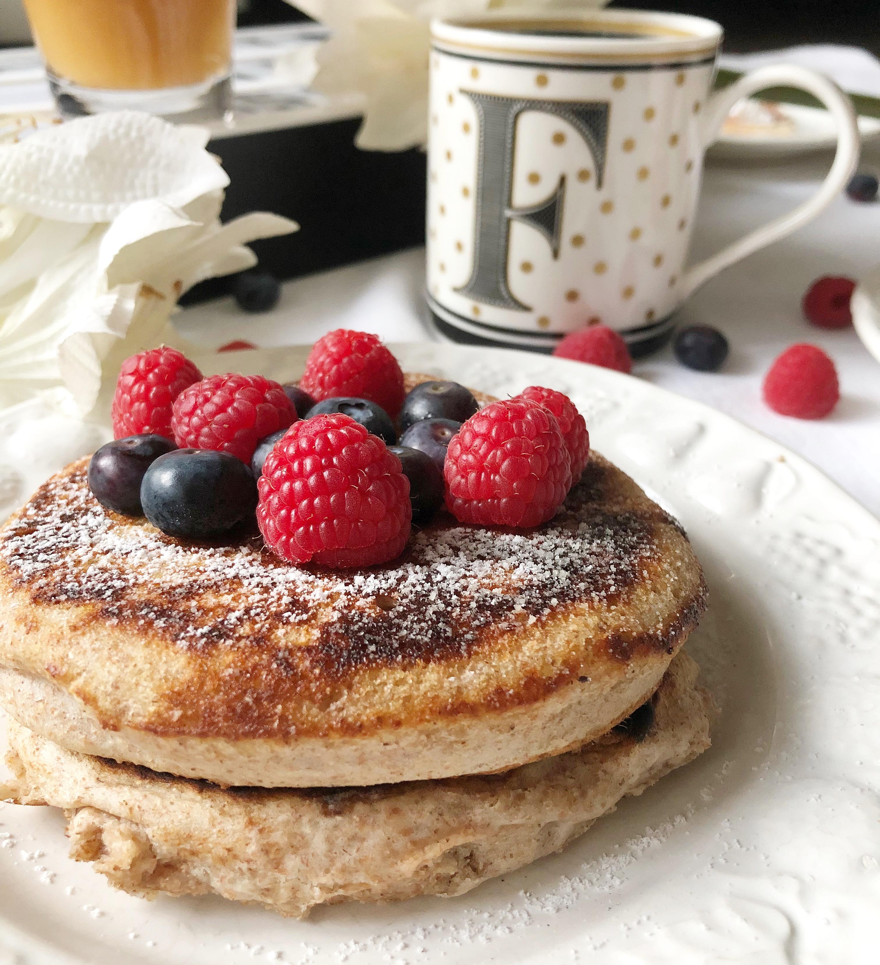 Pancake allo Yogurt, una nuova versione di pancake senza burro super golosi e leggeri!