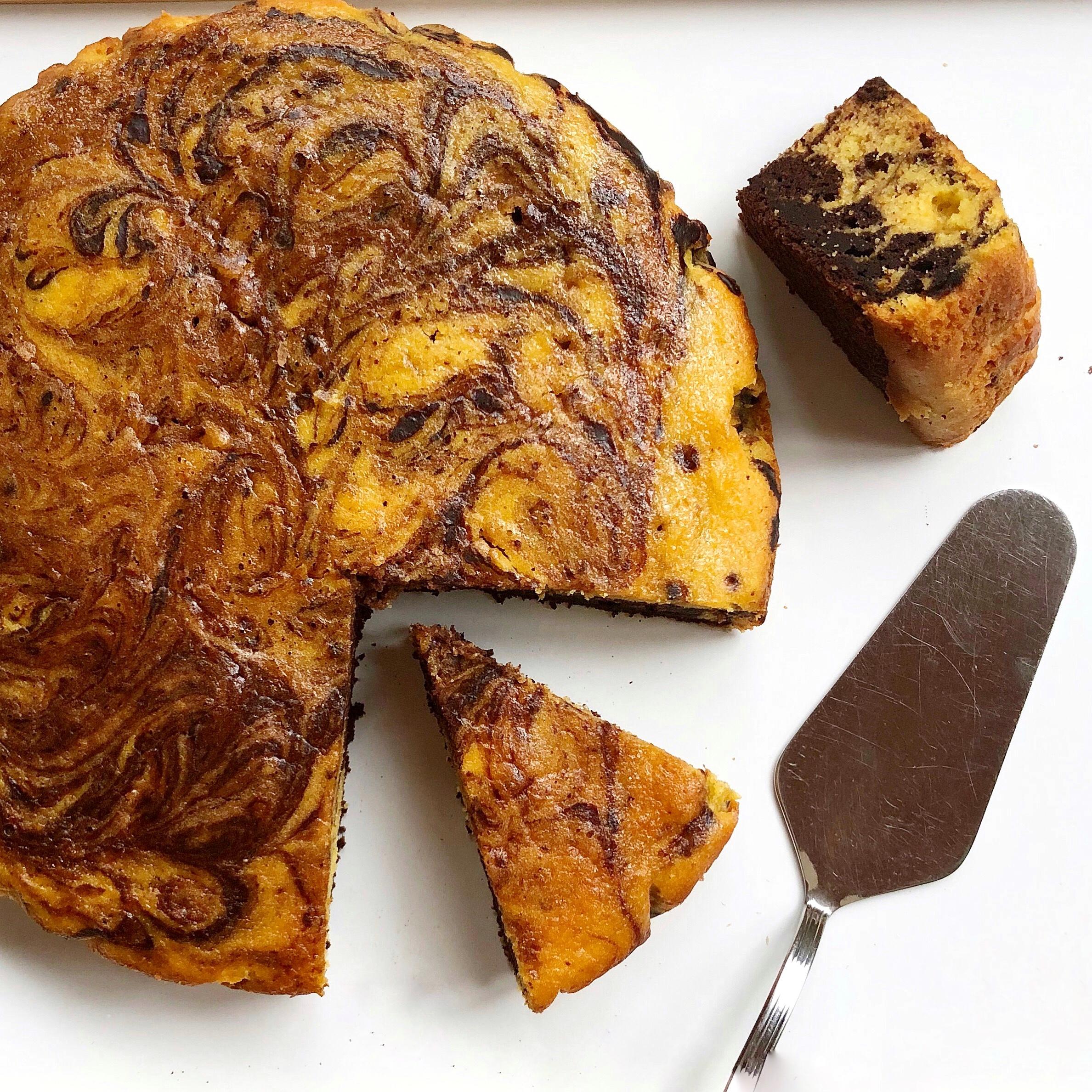 Torta Zucca e Cioccolato Senza Burro, un dolce soffice e goloso di dolci senza burro
