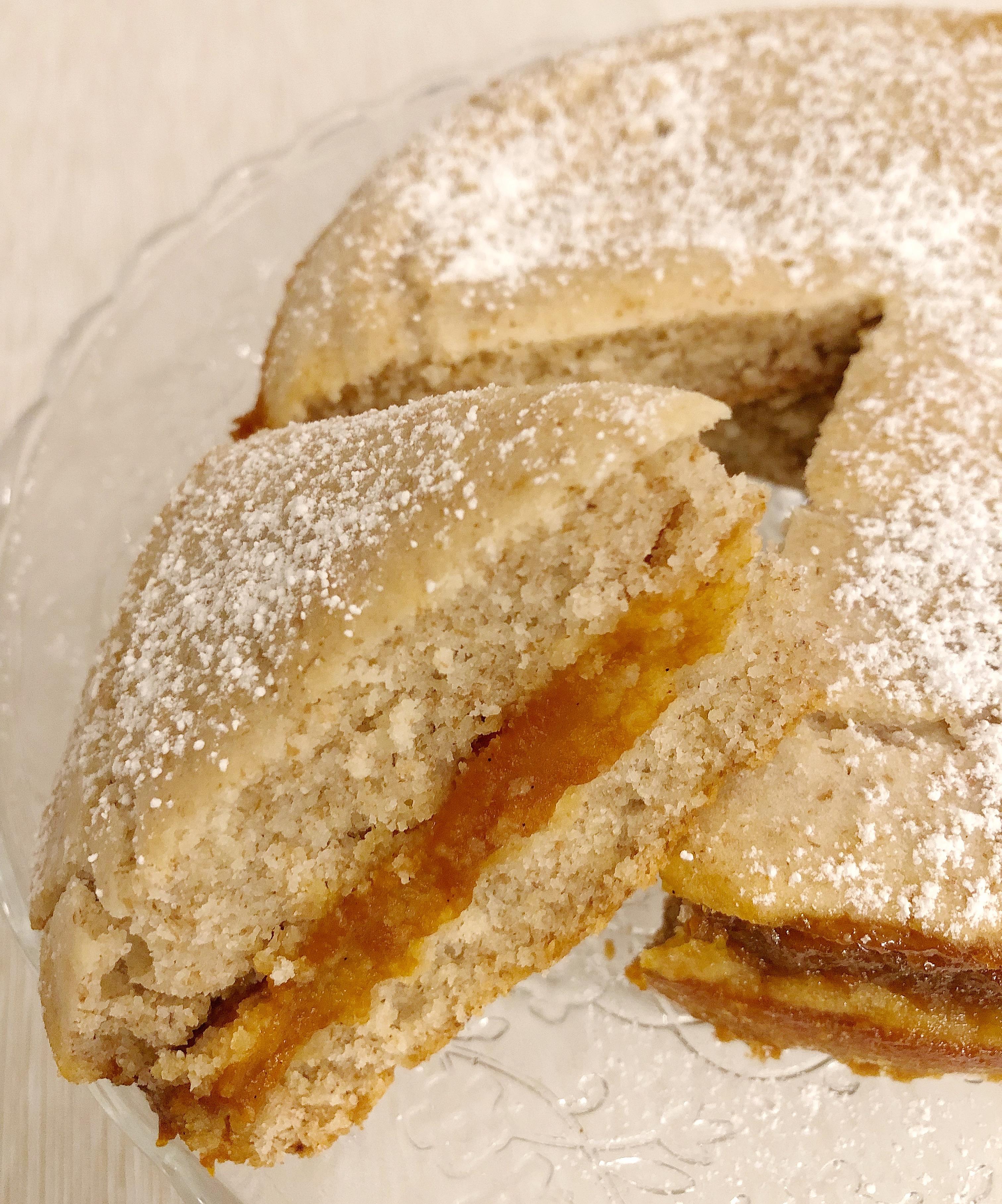 Torta Versata alla Marmellata Senza Burro, , un dolce semplice e goloso di dolci senza burro