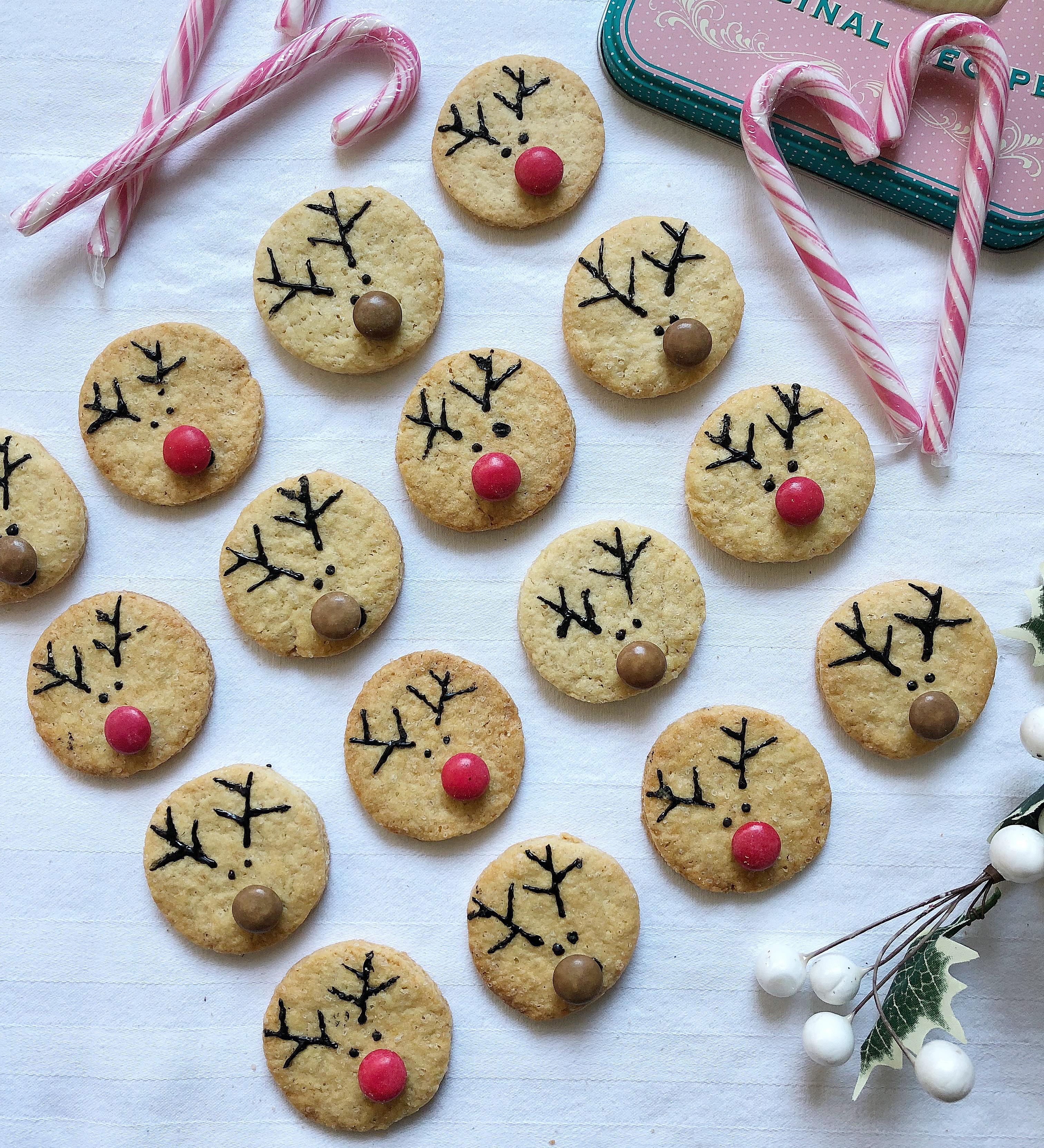 Biscotti Renna Senza Burro, i simpatici biscotti di Natale di dolci senza burro