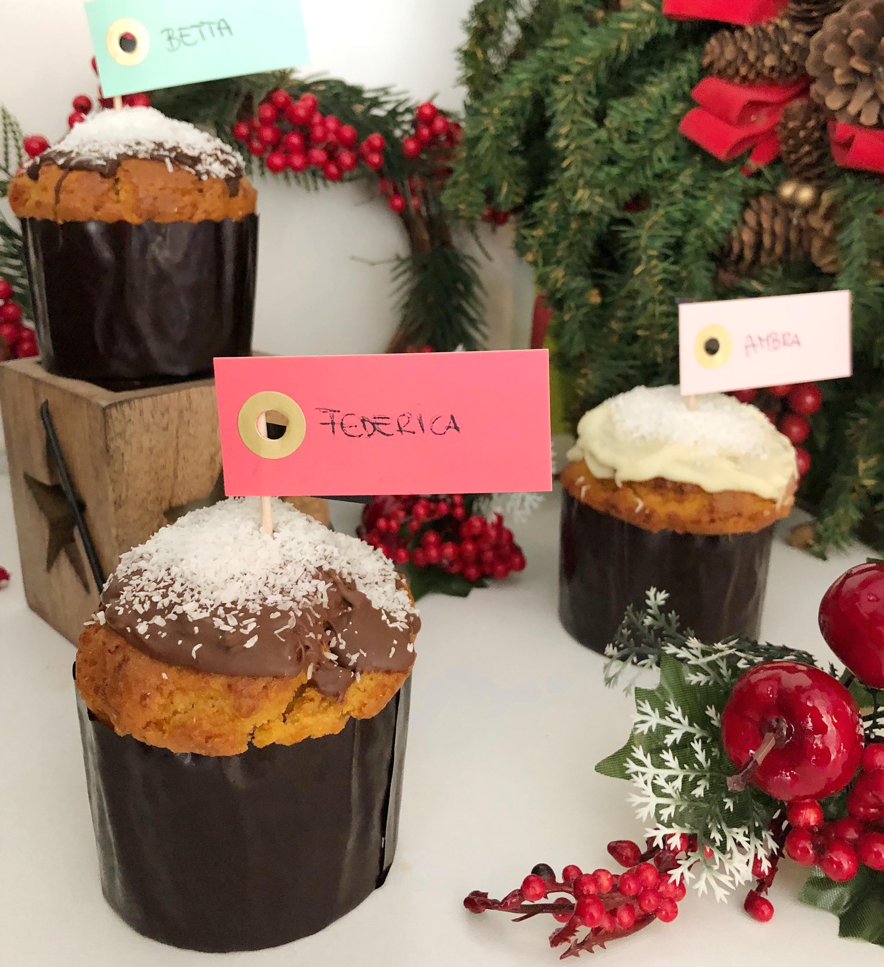 Panettoncini Senza Burro, dei mini panettoncini perfetti per le feste di dolci senza burro