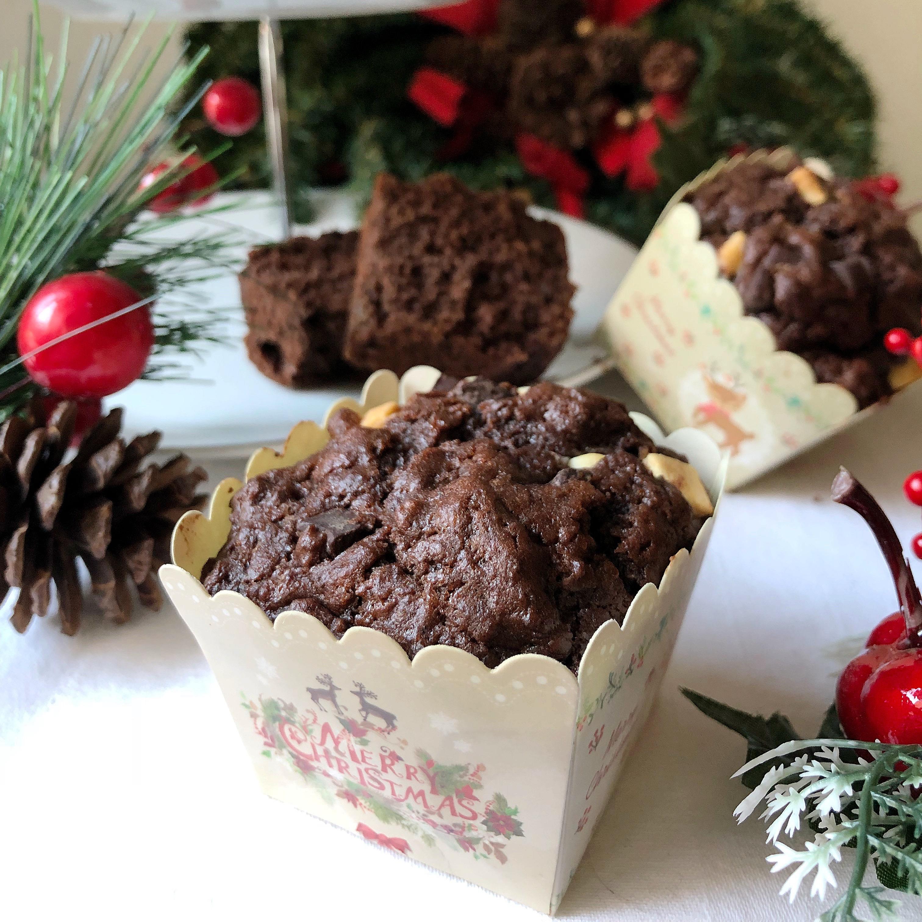 Muffin al Doppio Cioccolato Senza Burro, super golosi di dolci senza burro